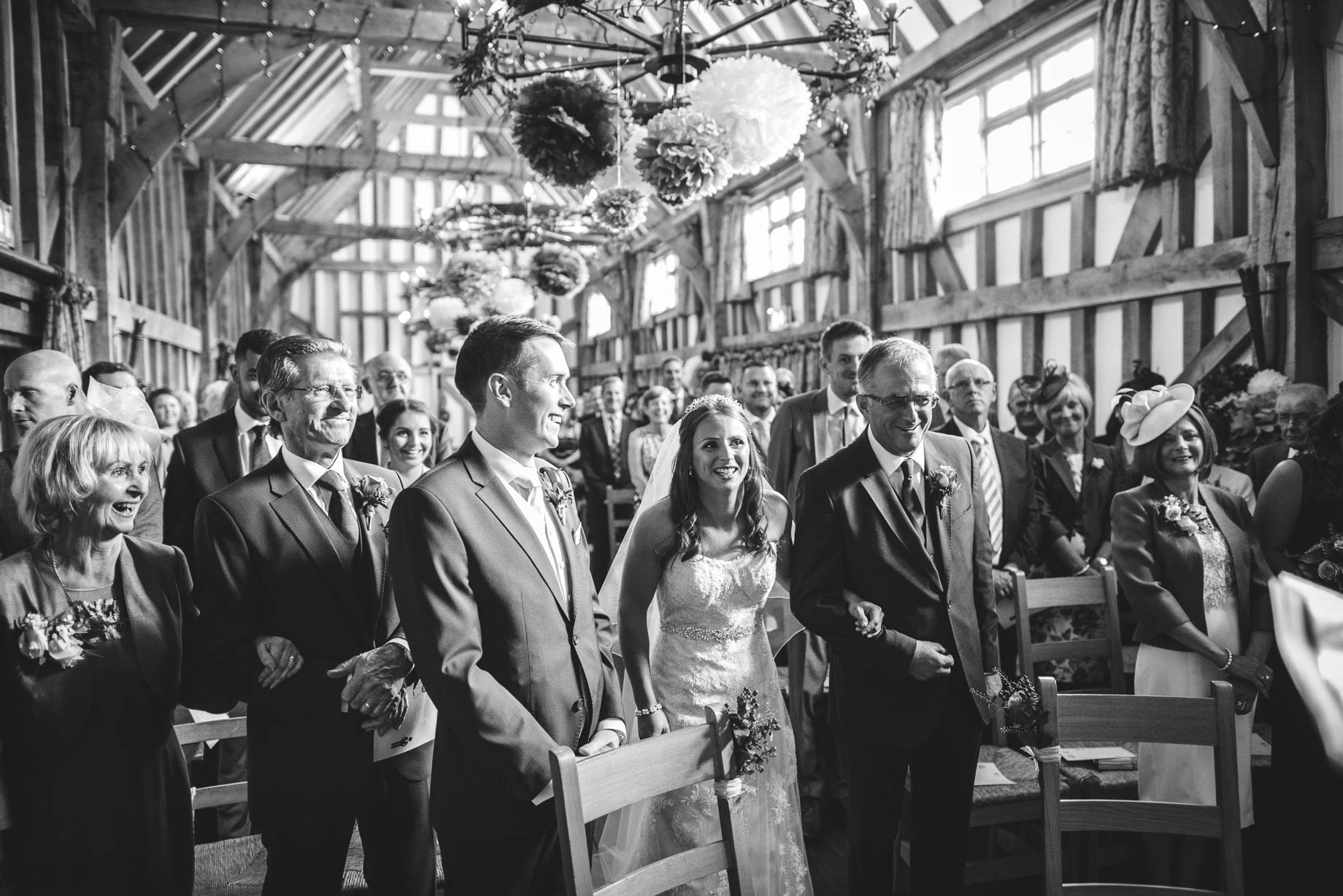 Gate Street Barn wedding photography - Guy Collier - Claire and Andy (53 of 192)