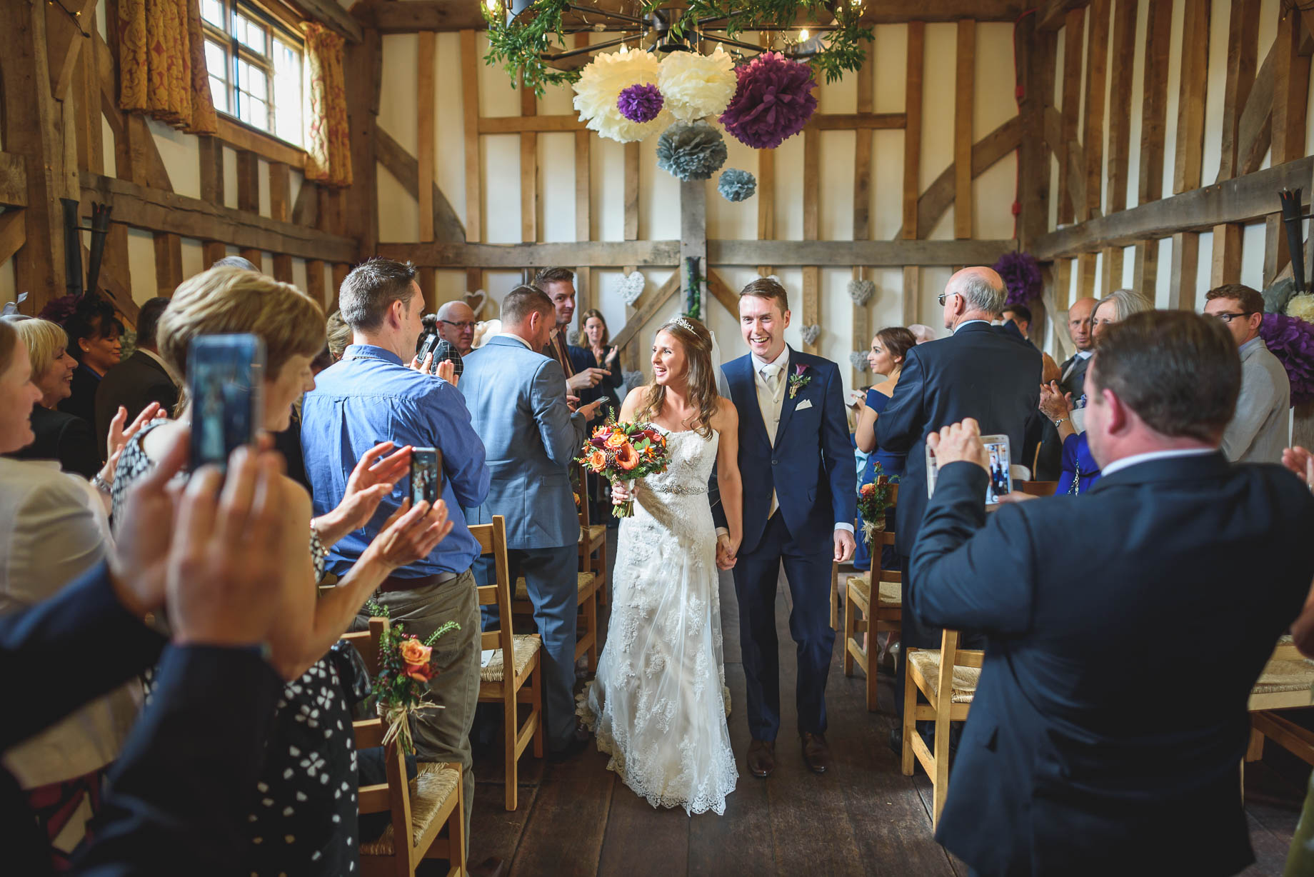 Gate Street Barn wedding photography - Guy Collier - Claire and Andy (62 of 192)