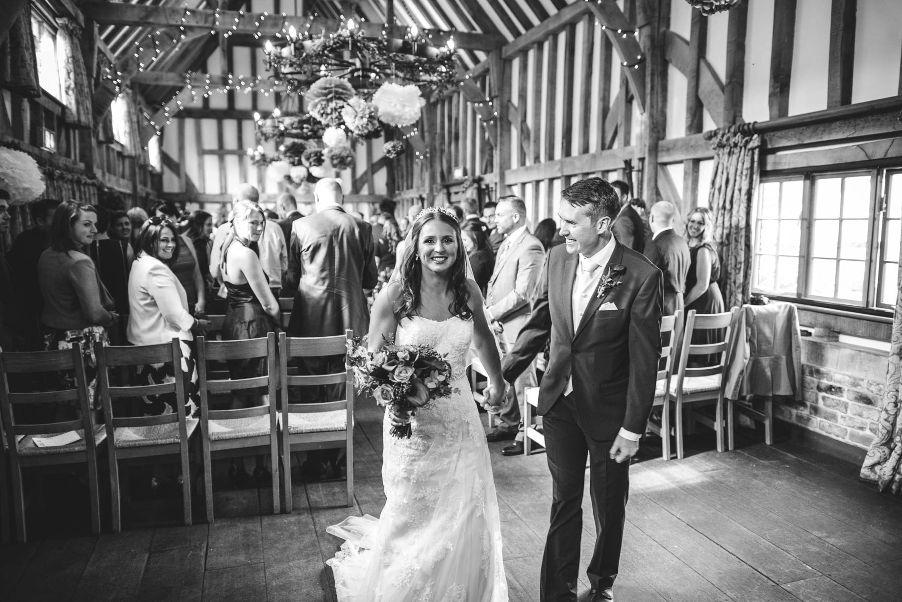 Gate Street Barn wedding photography - Guy Collier - Claire and Andy (63 of 192)