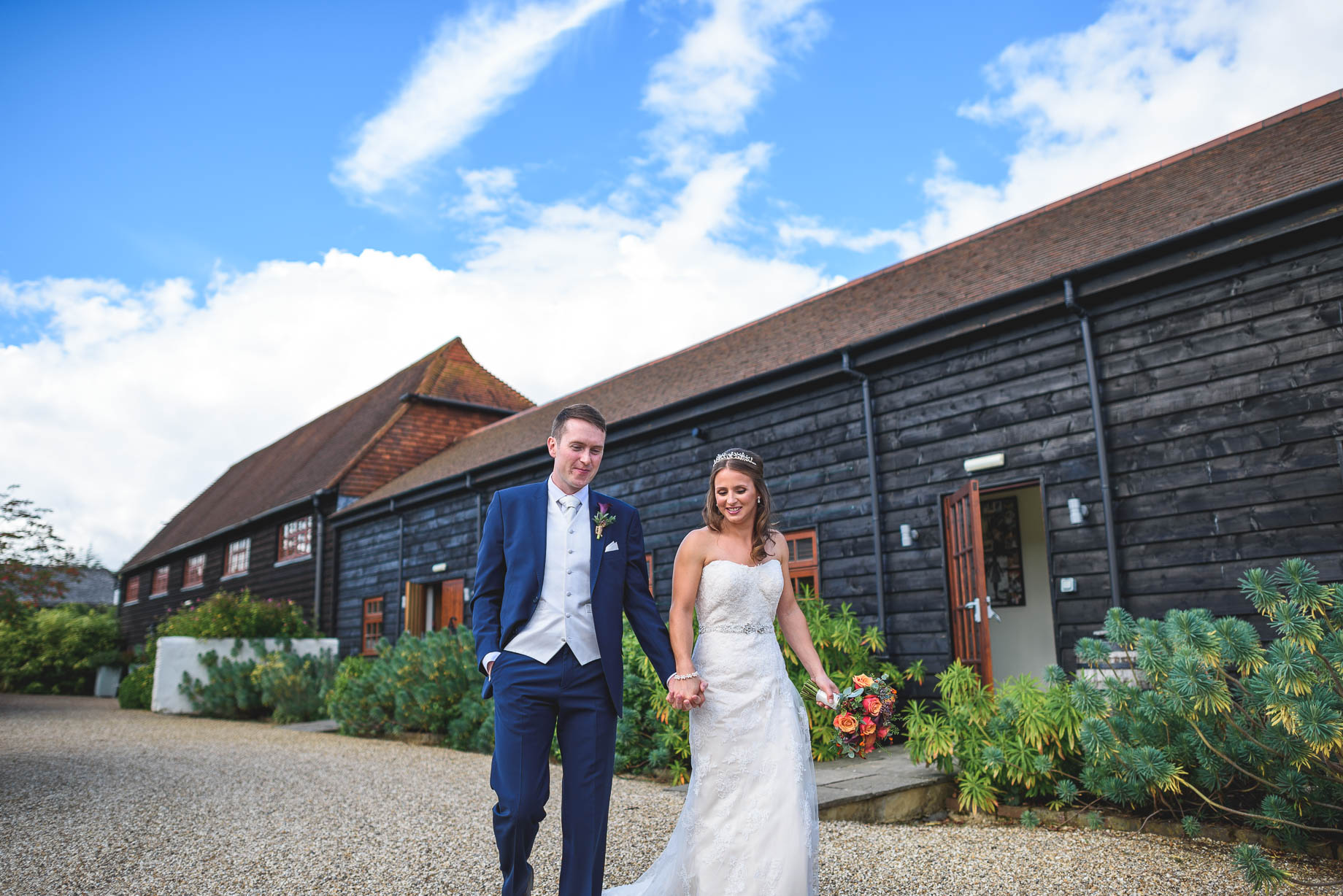 Gate Street Barn wedding photography - Guy Collier - Claire and Andy (72 of 192)