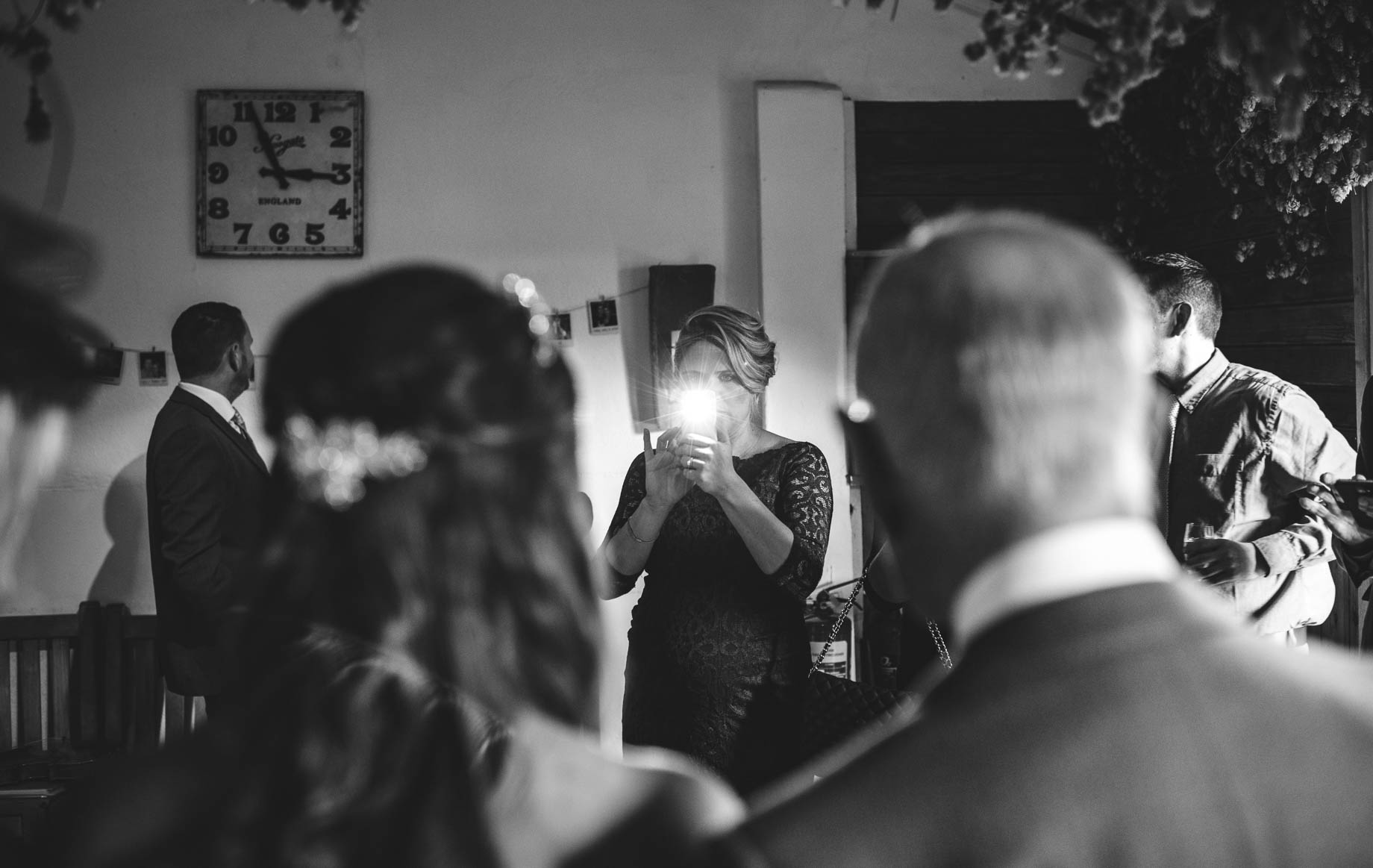 Gate Street Barn wedding photography - Guy Collier - Claire and Andy (89 of 192)