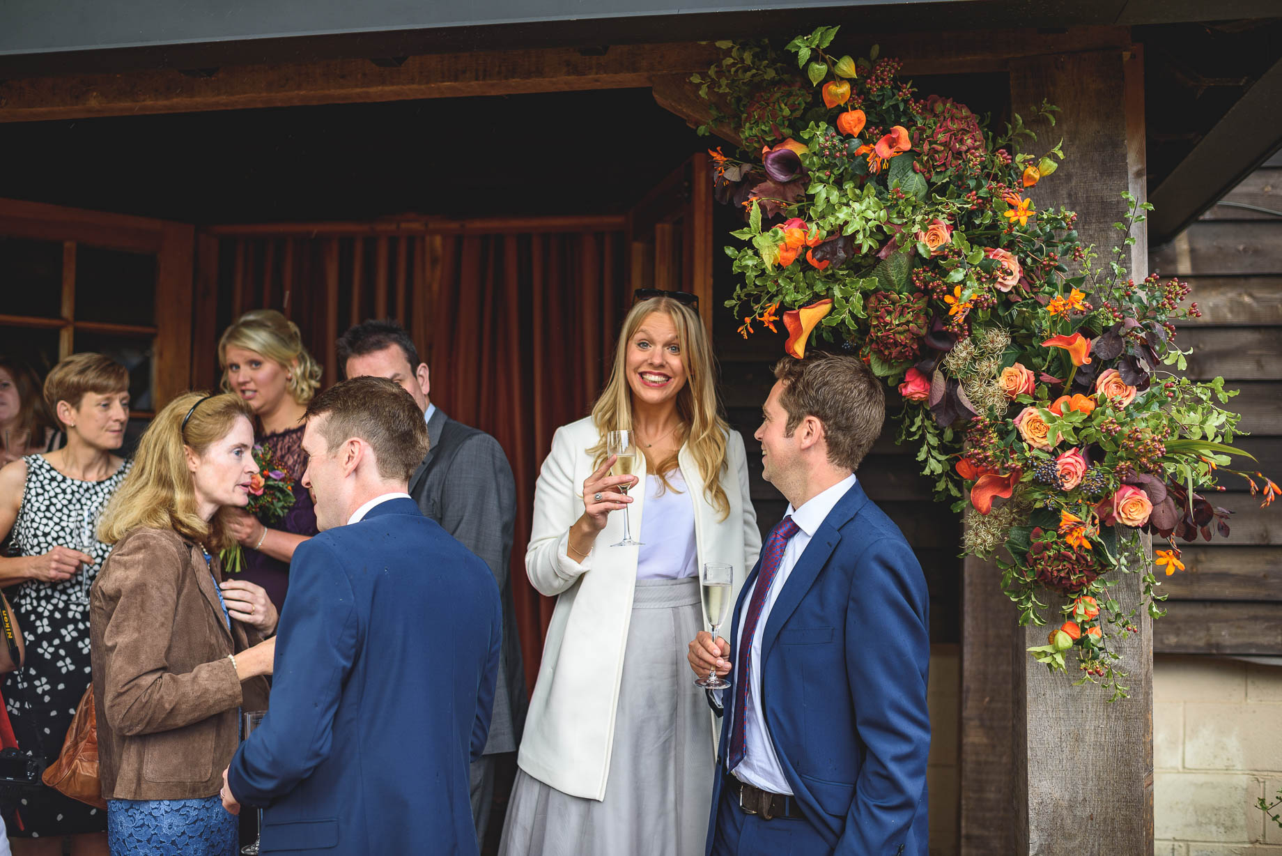 Gate Street Barn wedding photography - Guy Collier - Claire and Andy (91 of 192)