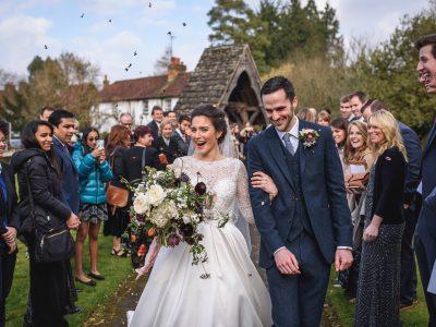 Gate Street Barn wedding photography - Aubrey + Joe