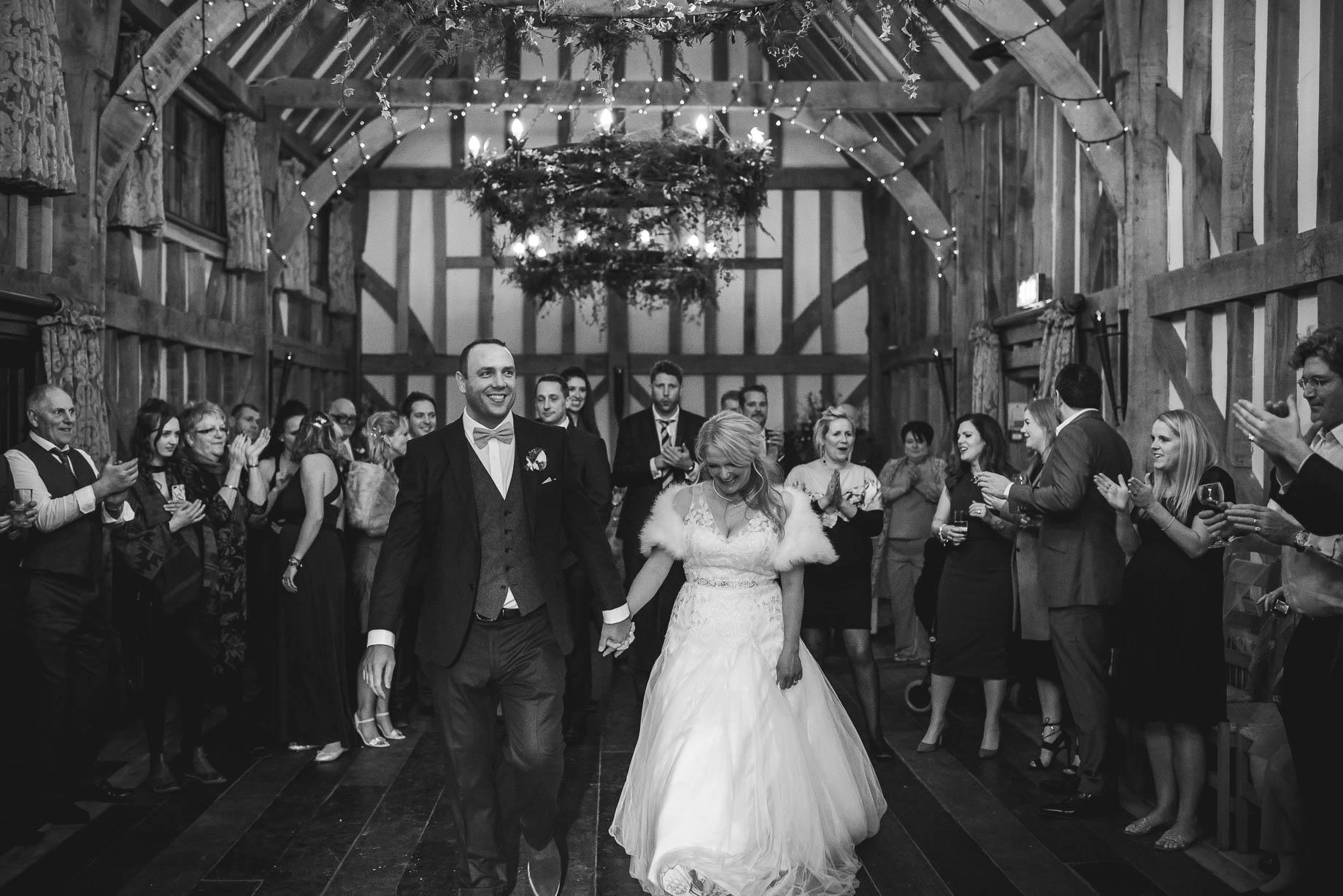 Gate Street Barn wedding photography - Camilla + Dave