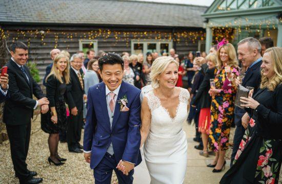 Gate Street Barn wedding photography - Marie + Leo