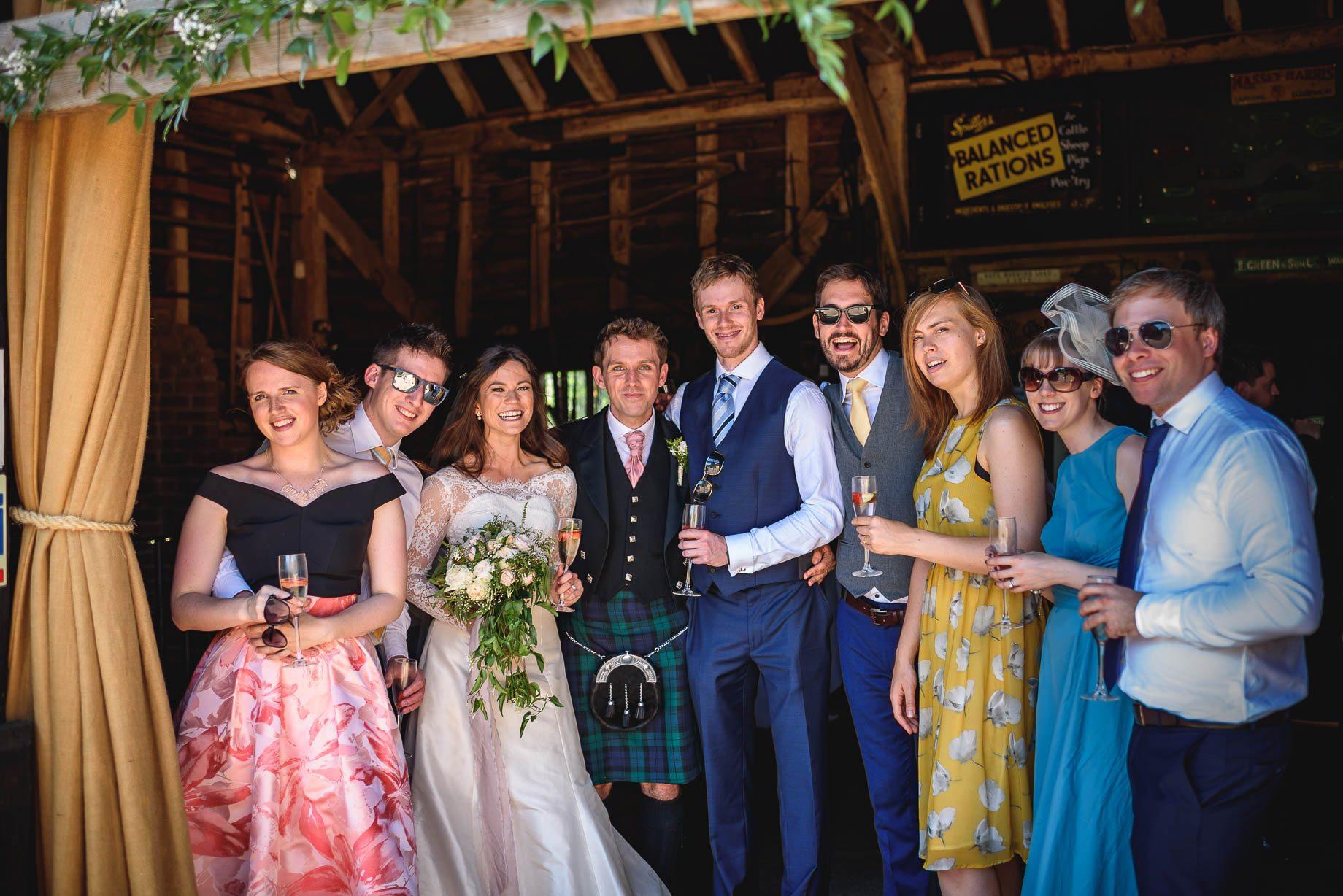 Gildings Barn wedding photography - Sarah and Steve (114 of 190)