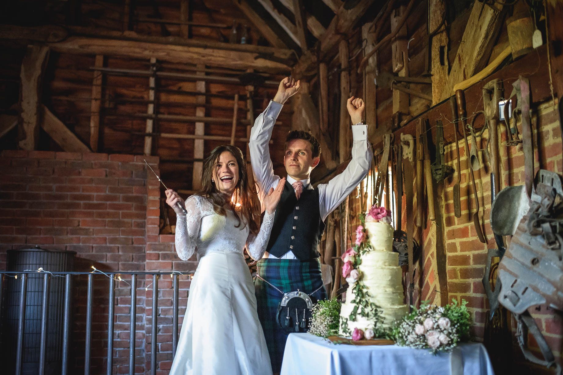 Gildings Barn wedding photography - Sarah and Steve (174 of 190)
