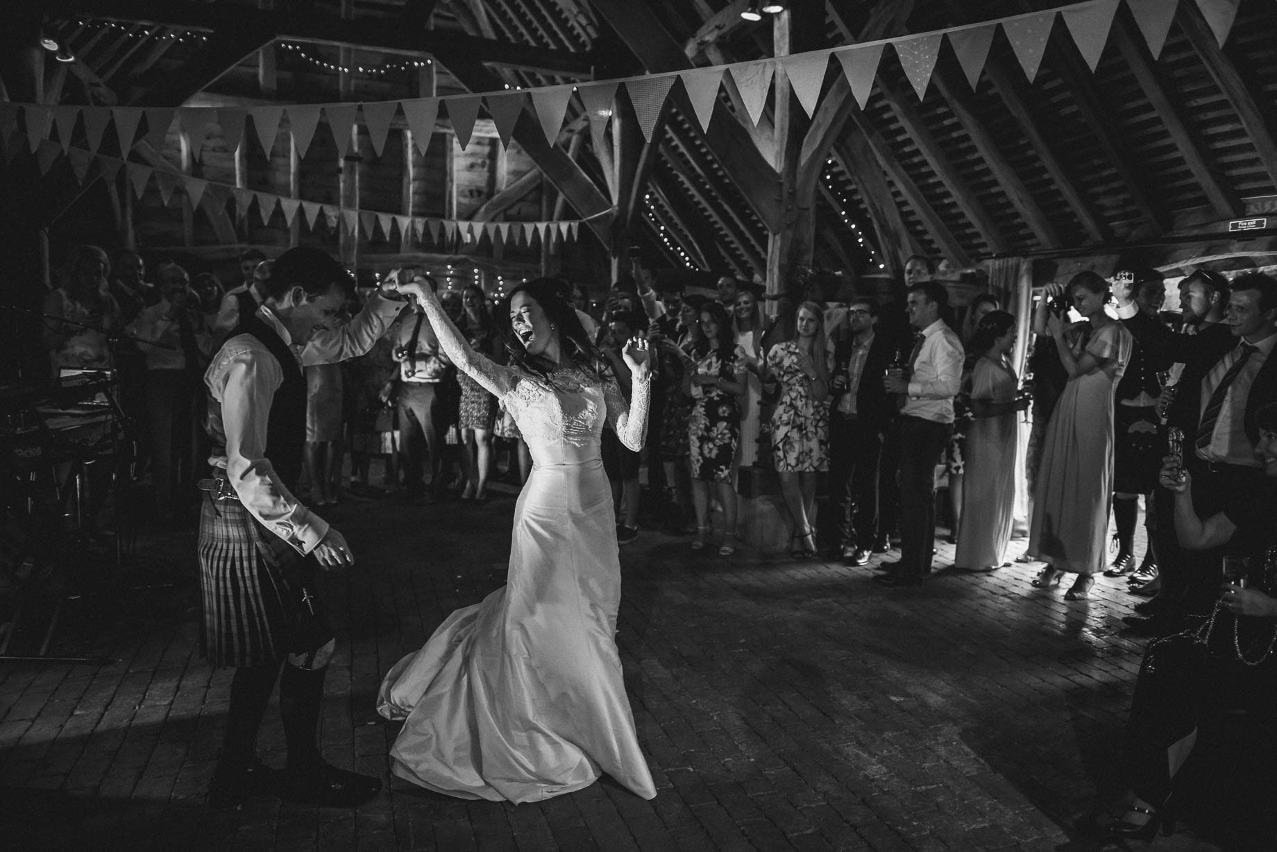 Gildings Barn wedding photography - Sarah and Steve (179 of 190)