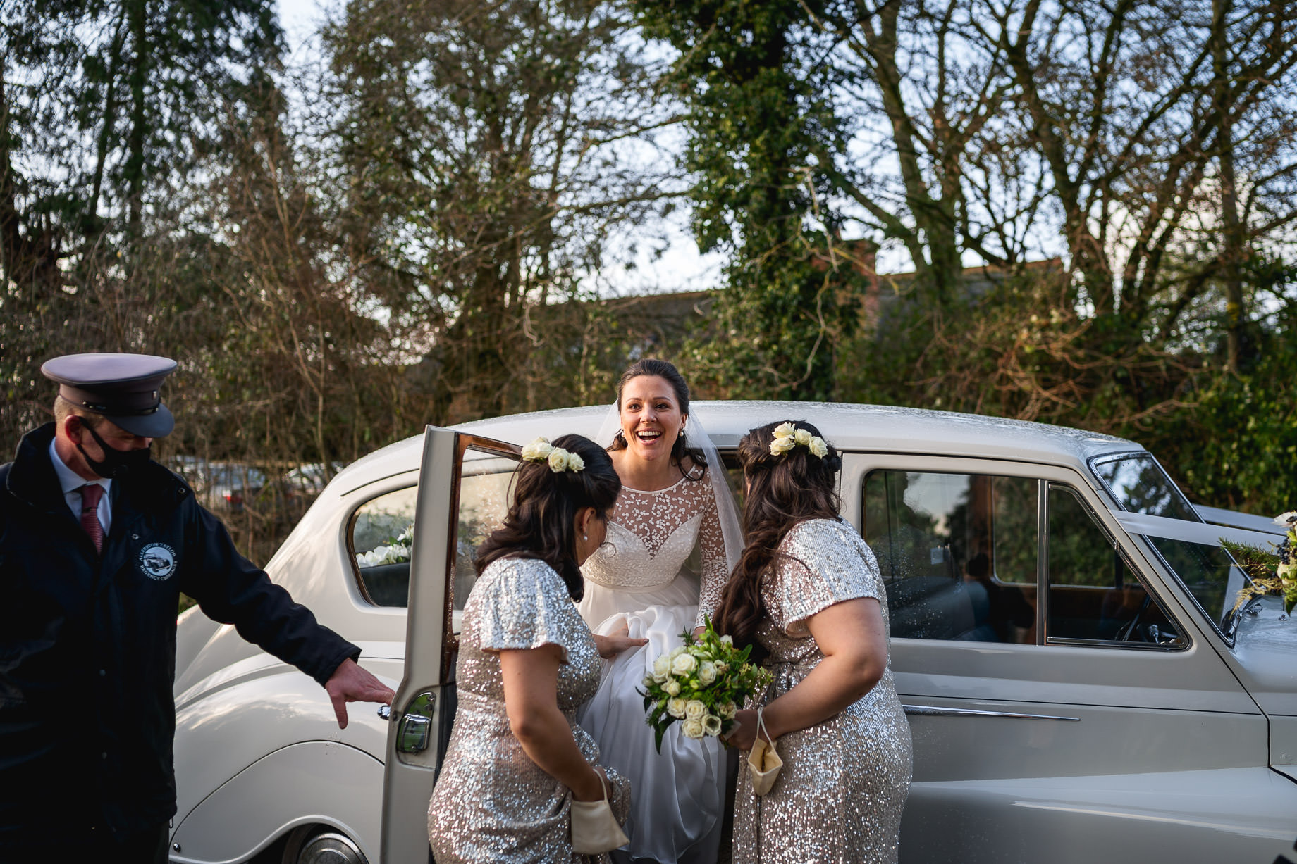 Micro wedding photography in Hampshire - Grace + Ali