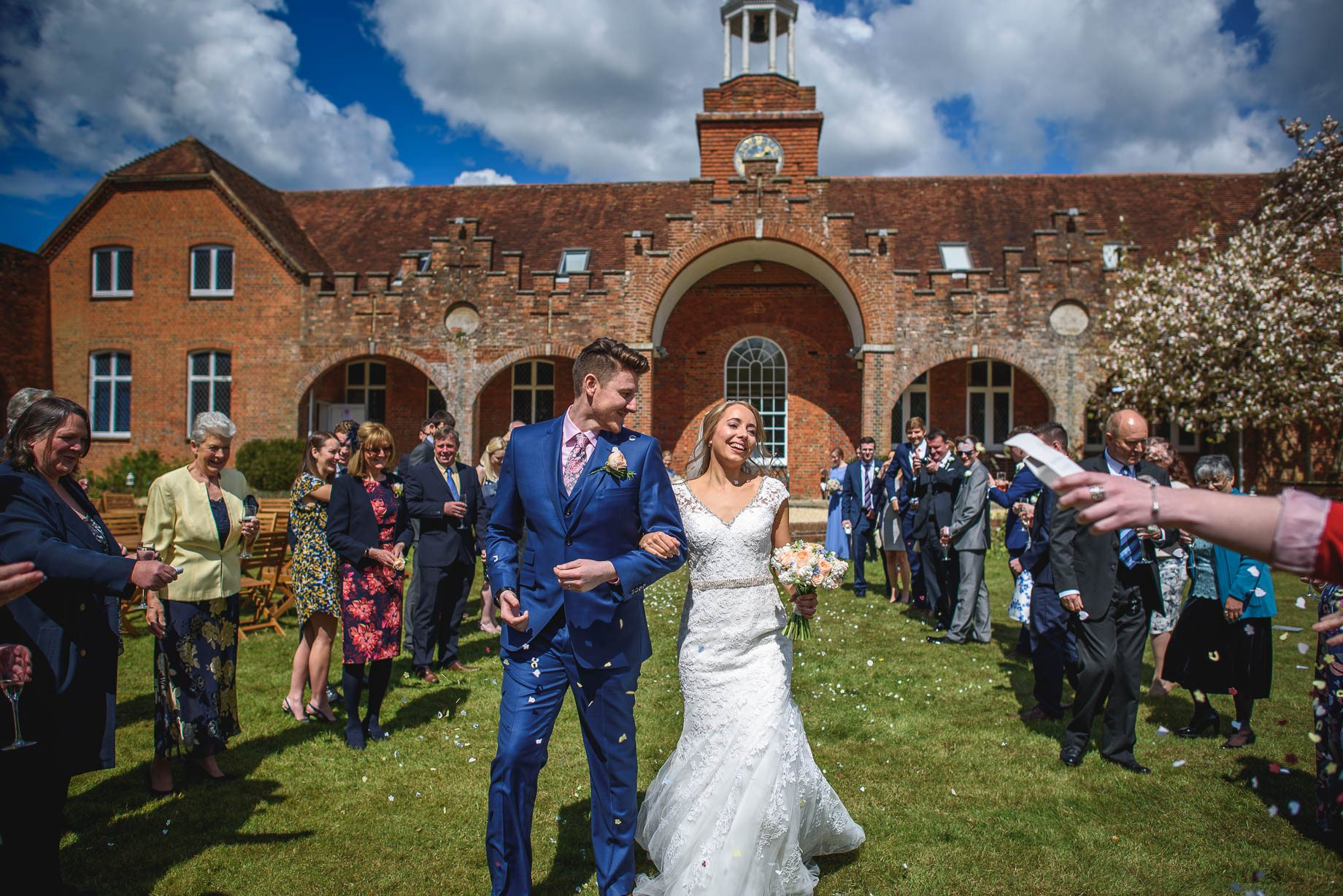 Hampshire wedding photography by Guy Collier - Emily and Tom (70 of 164)