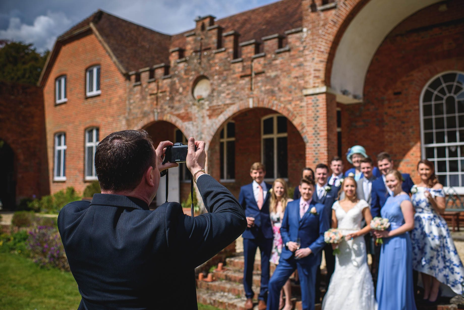 Hampshire wedding photography by Guy Collier - Emily and Tom (81 of 164)