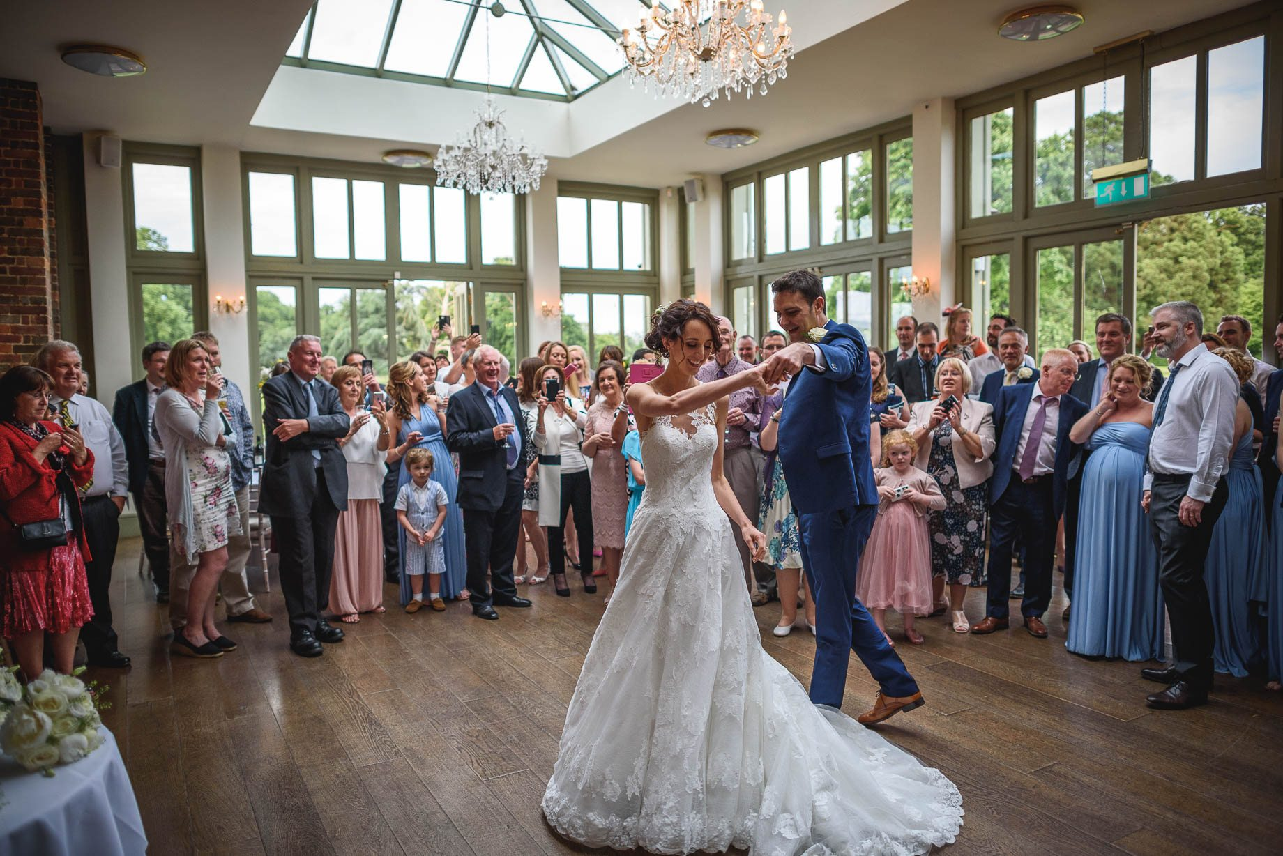 Hertfordshire wedding photography - Sarah and Stephen by Guy Collier Photography (155 of 161)