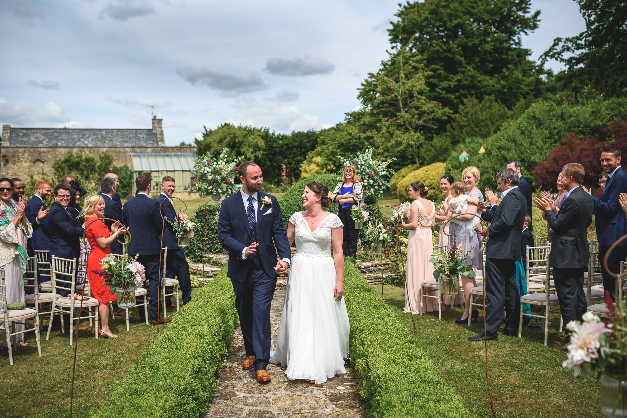 Jem and Andy - The Rectory at Crudwell wedding photography by Guy Collier Photography