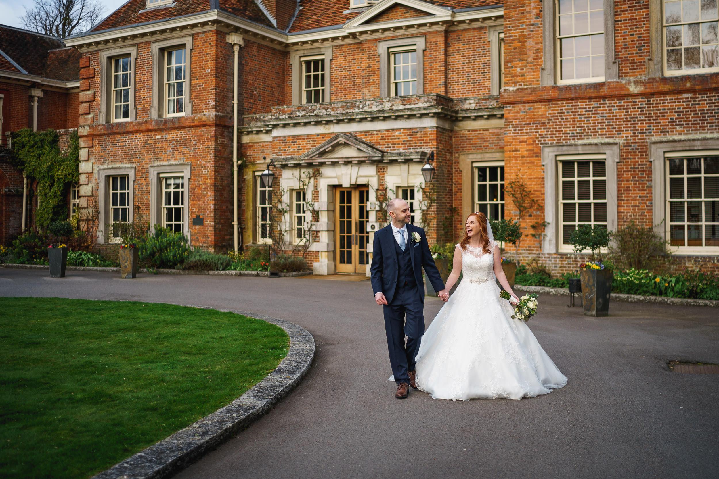 Lainston House + Winchester wedding photography - Jenna + George