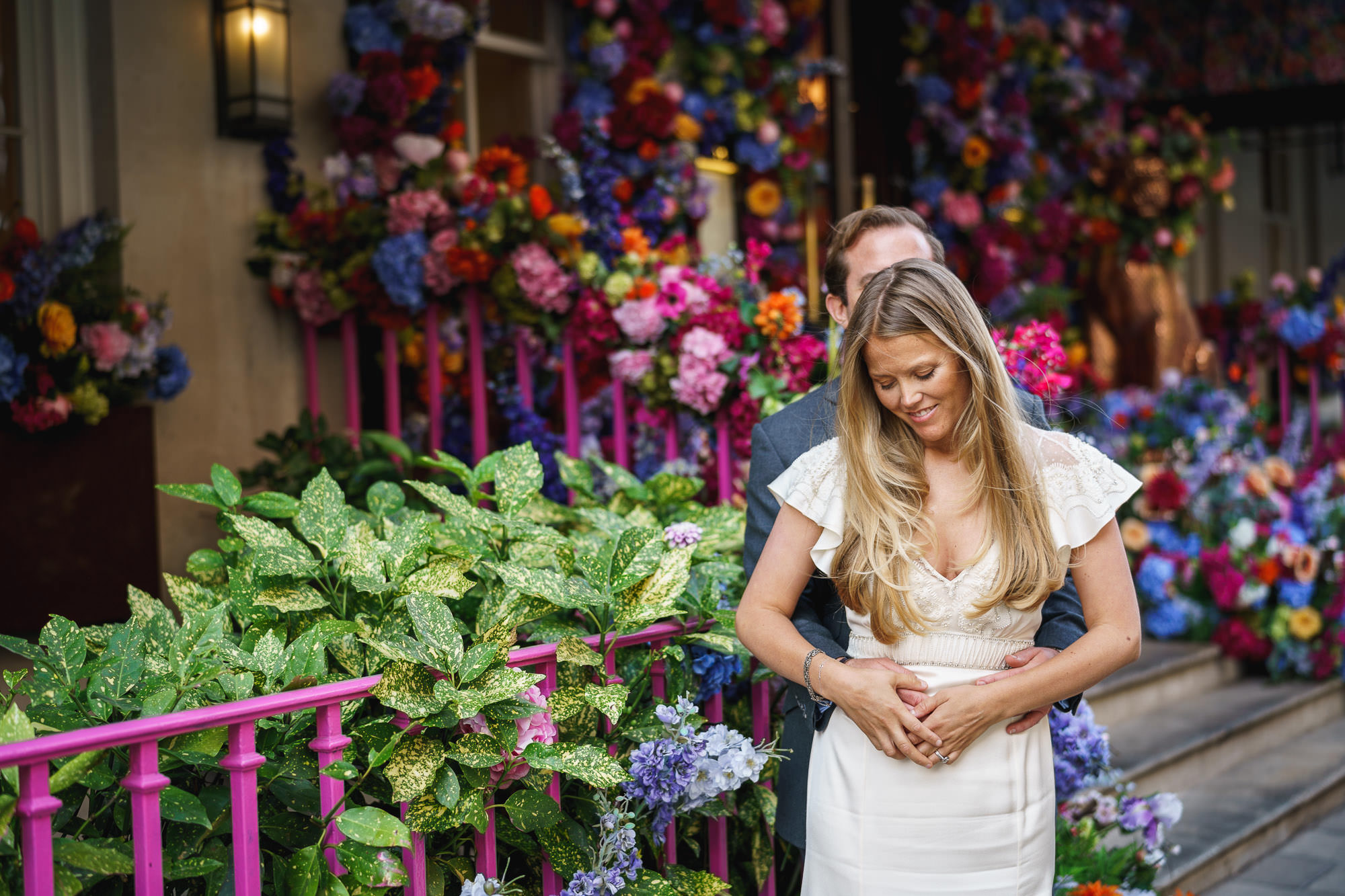 Chelsea and Mayfair wedding photography – Jessie + Tom