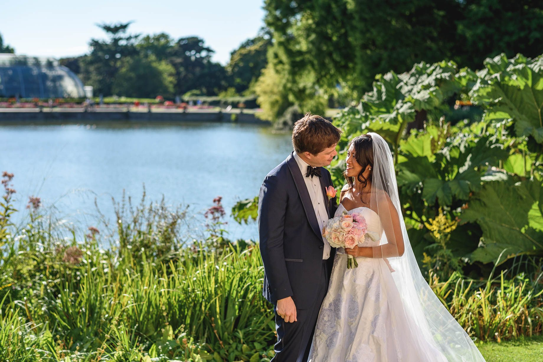 Kew Gardens wedding photography - Guy Collier Photography - Gloria and Frederik (82 of 173)