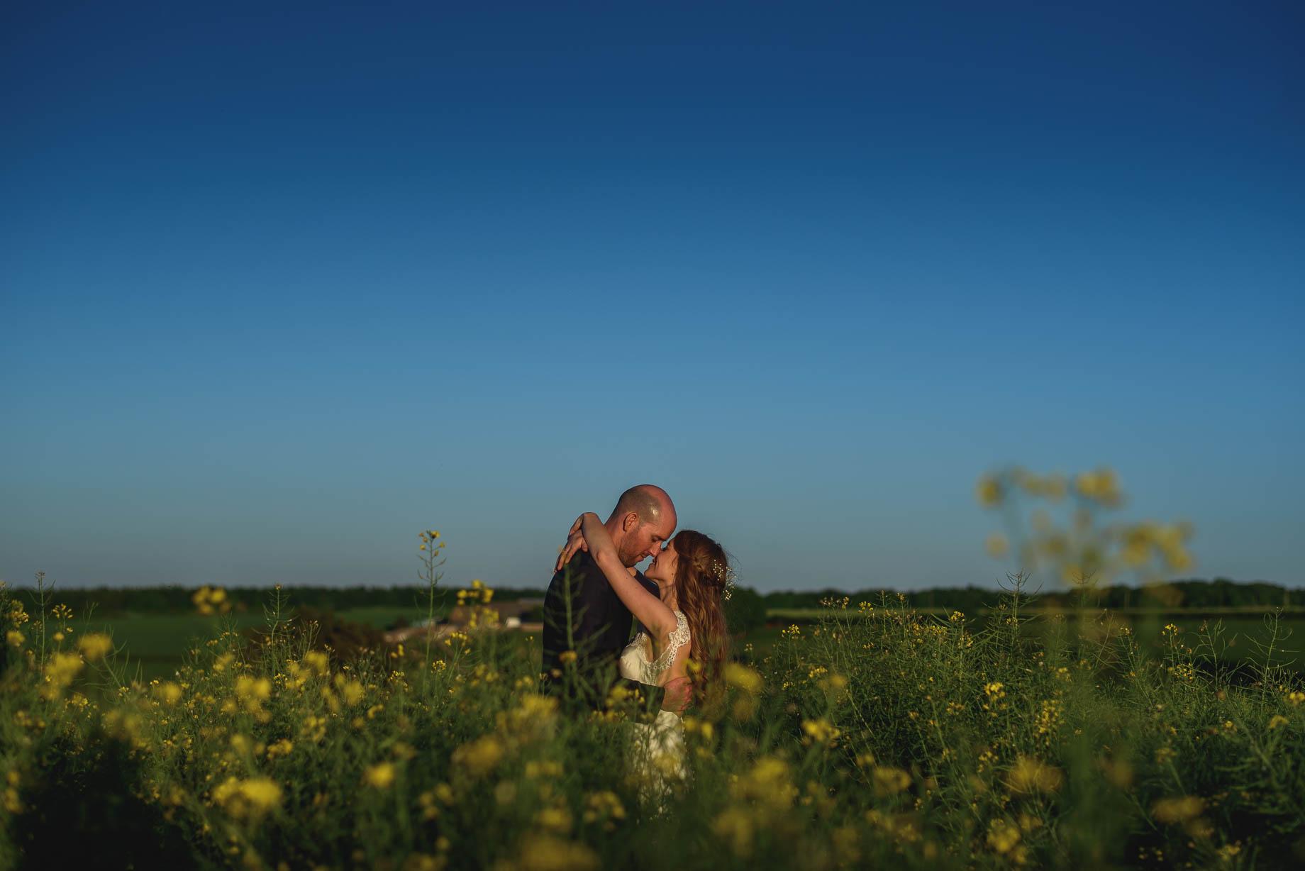Kingscote Barn wedding photography - Claire + Ewan