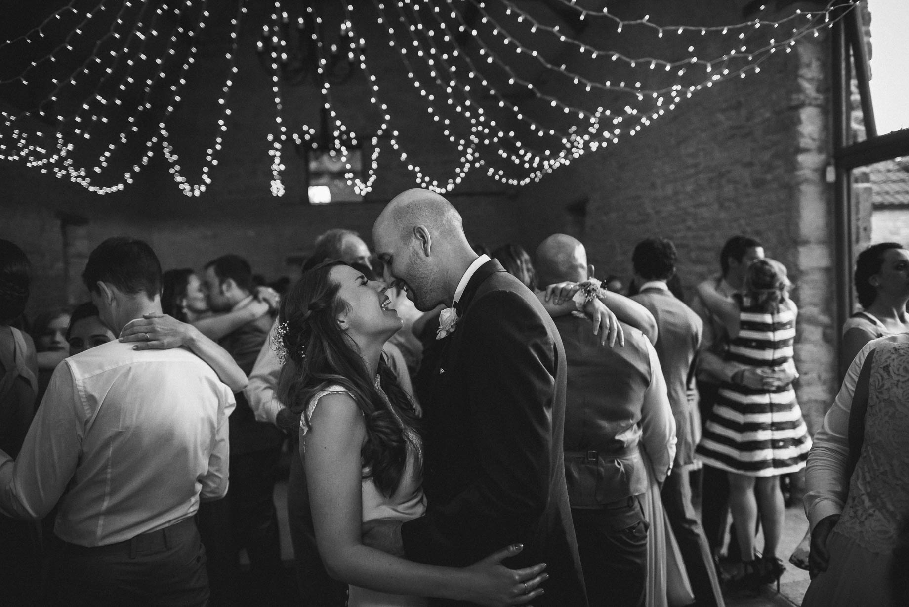 Kingscote Barn wedding photography - Claire + Ewan