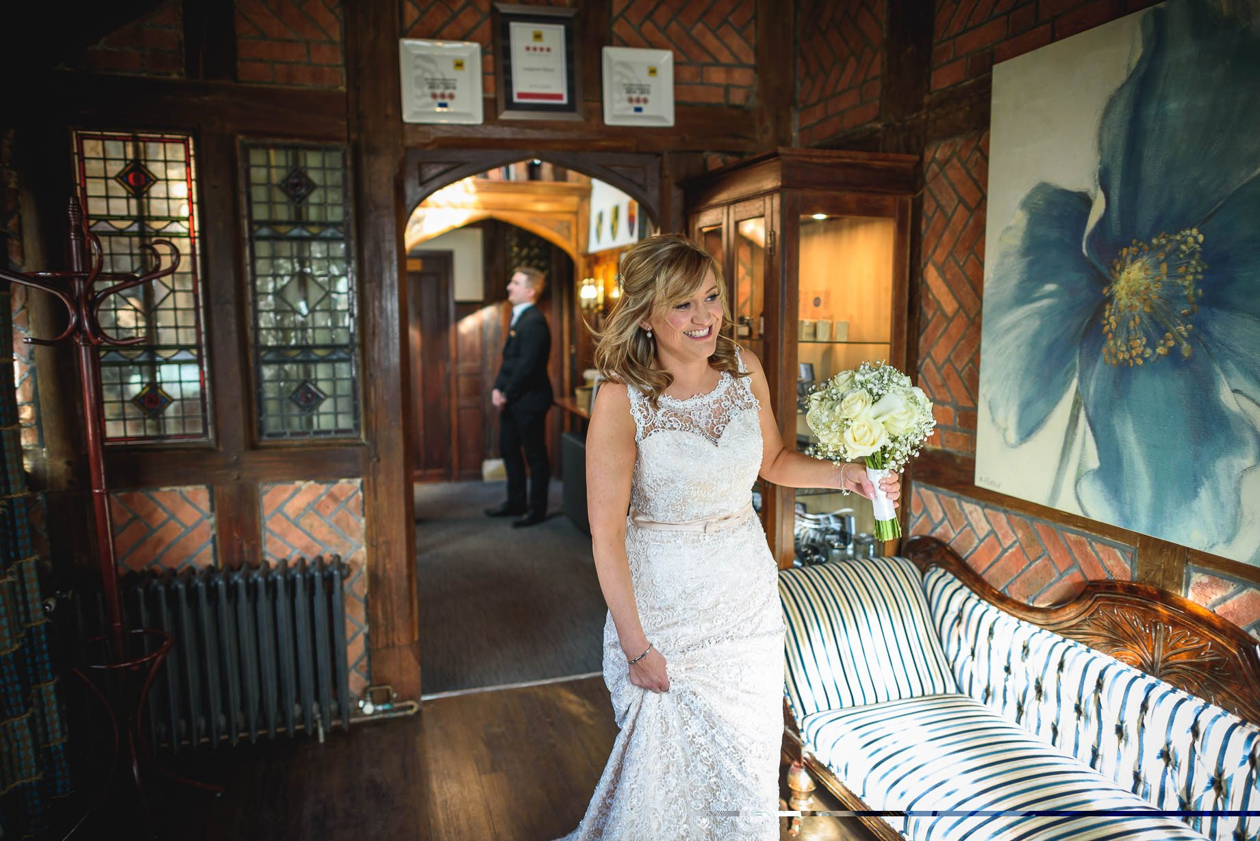 Langshott Manor wedding photography - Hollie and David (58 of 167)