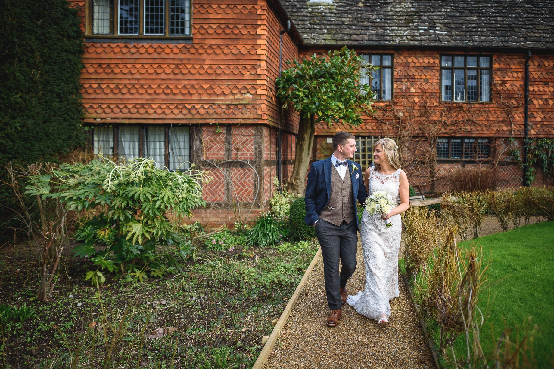 Langshott Manor wedding photography - Hollie and David (80 of 167)