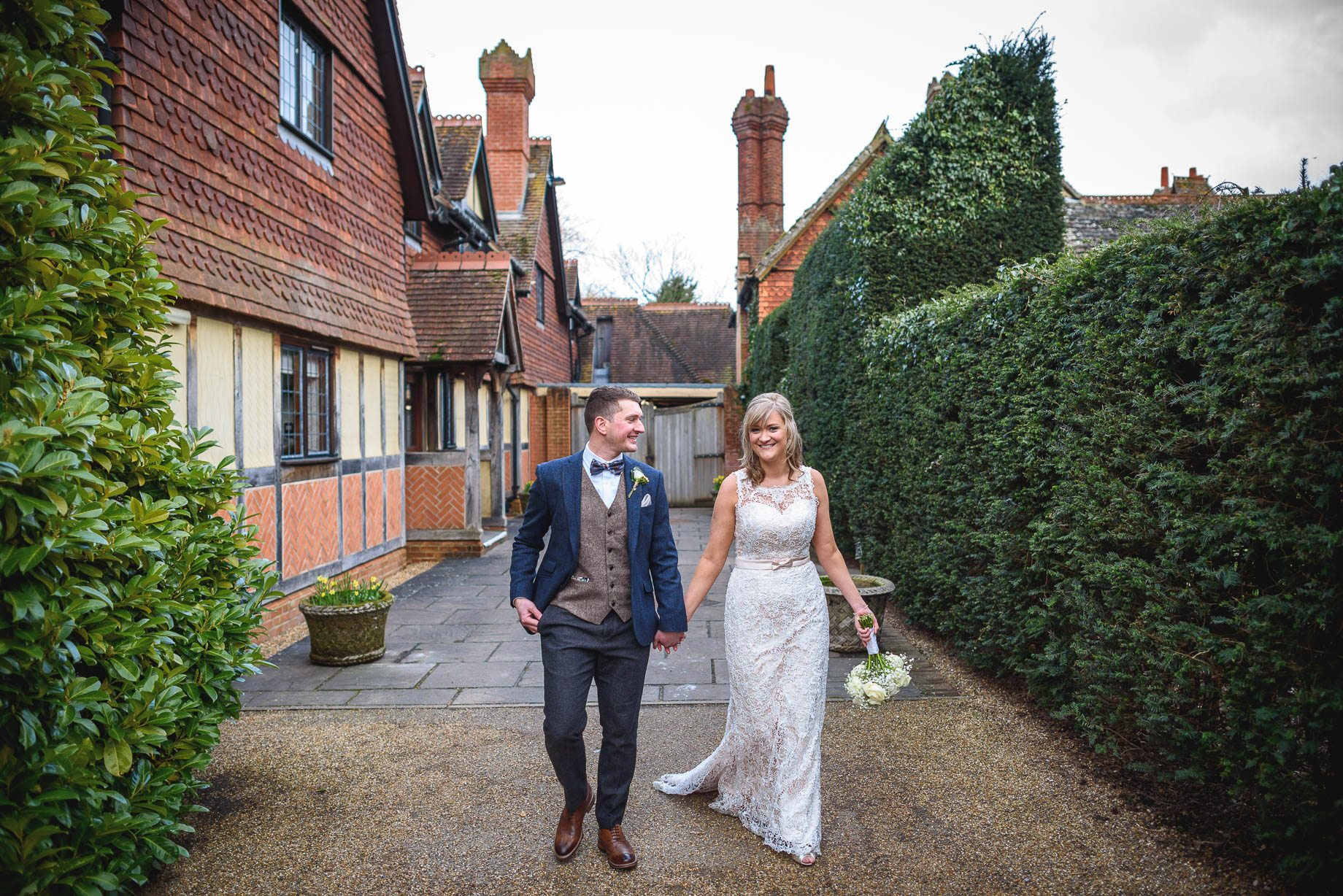 Langshott Manor wedding photography - Hollie and David (85 of 167)