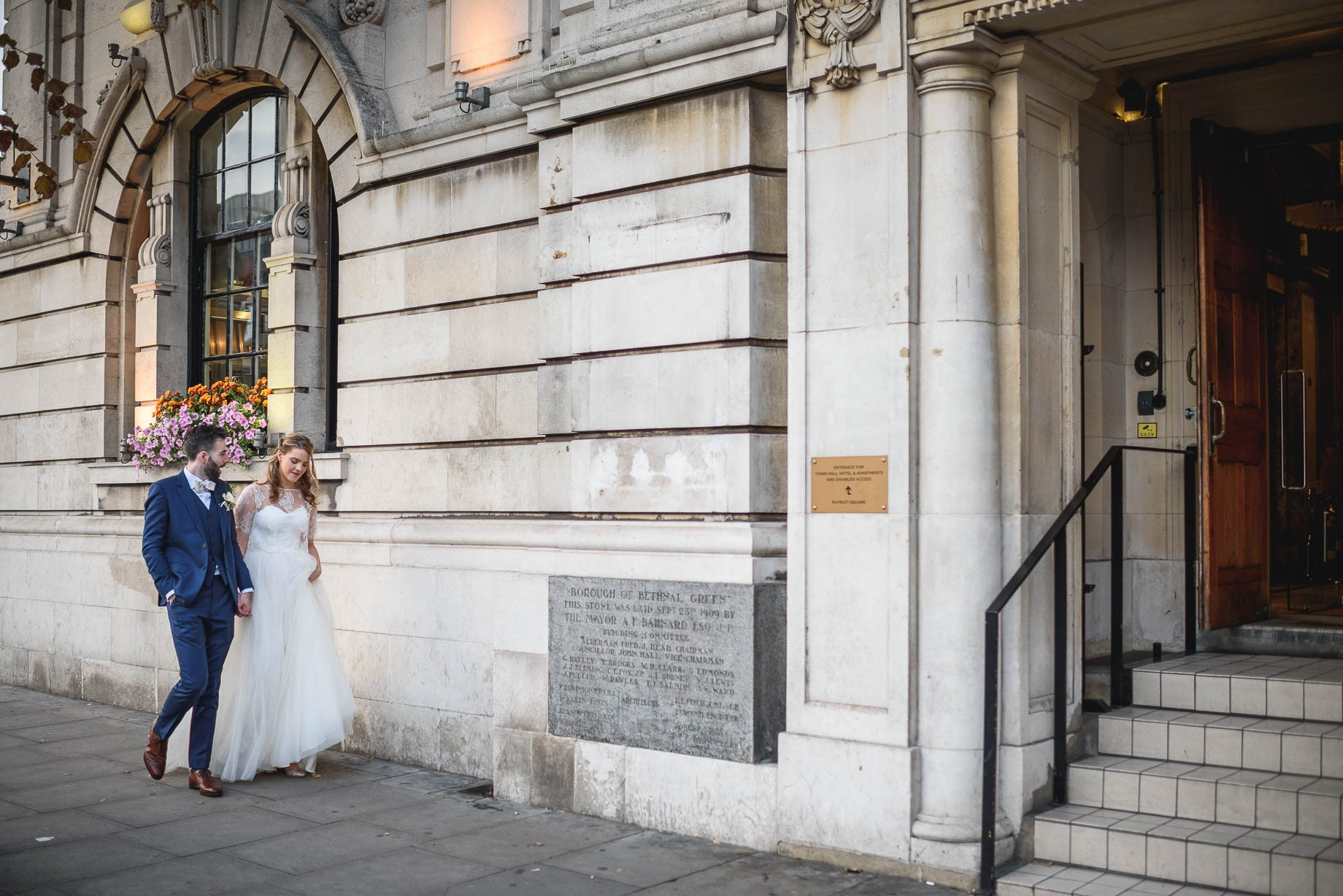 Town Hall Hotel London wedding photography