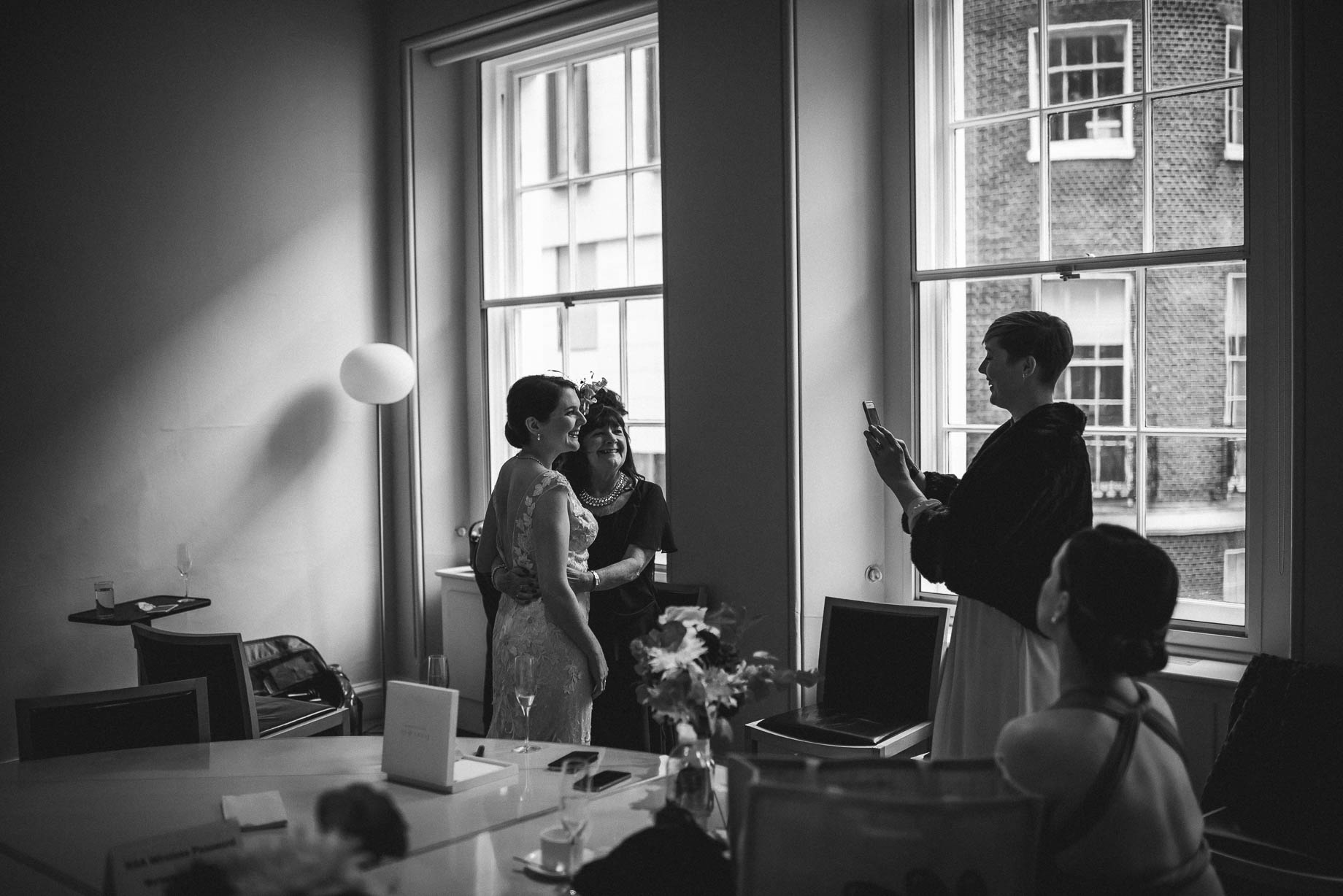 London wedding photography at The RSA - Johanna and Jack