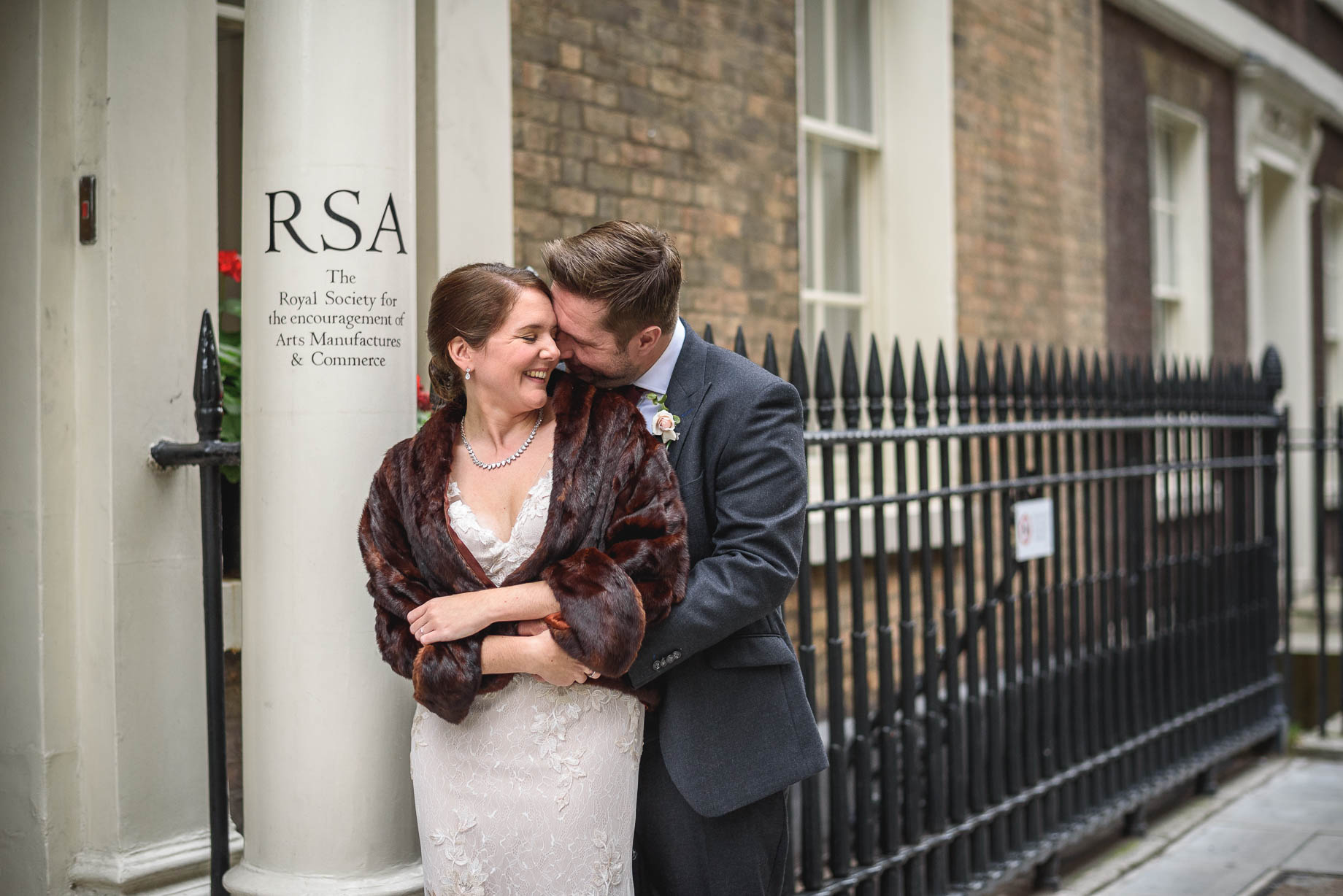 The RSA wedding photography - Johanna + Jack