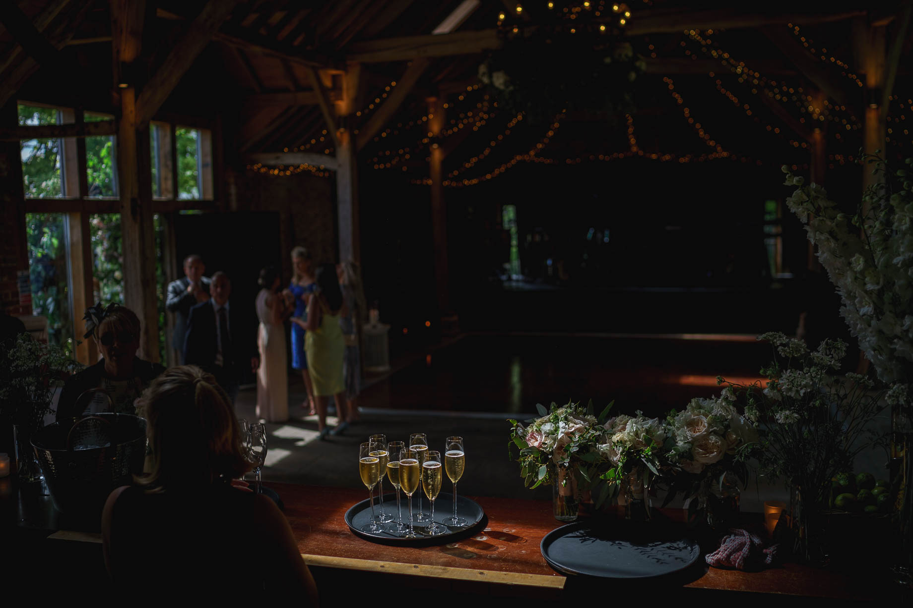 The Long Barn Alton wedding photography - Lily + Troy