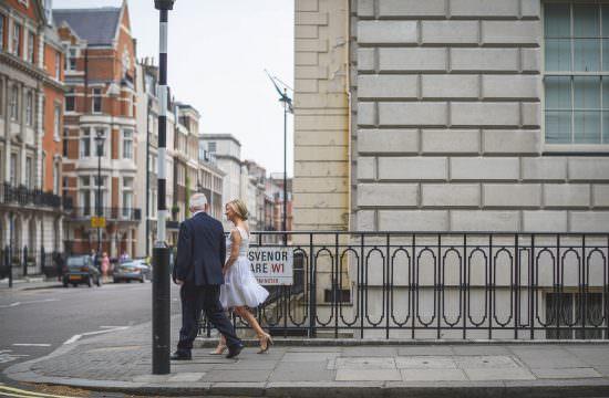 Mayfair wedding photography - Allison and Eugene