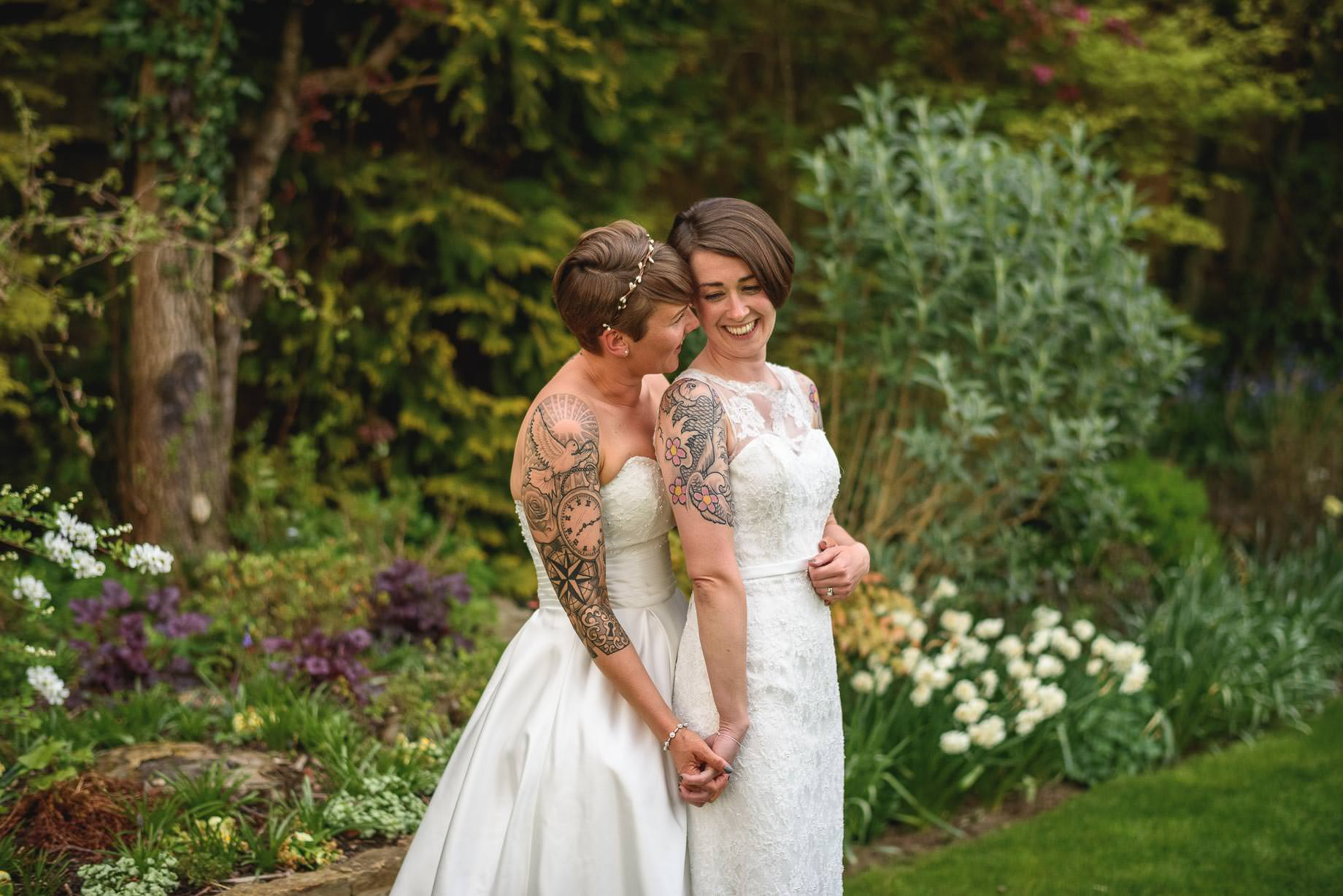 Millbridge Court wedding photography - Bessie and Louise