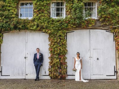 Northbrook Park wedding photography - bride and groom at Northbrook Park