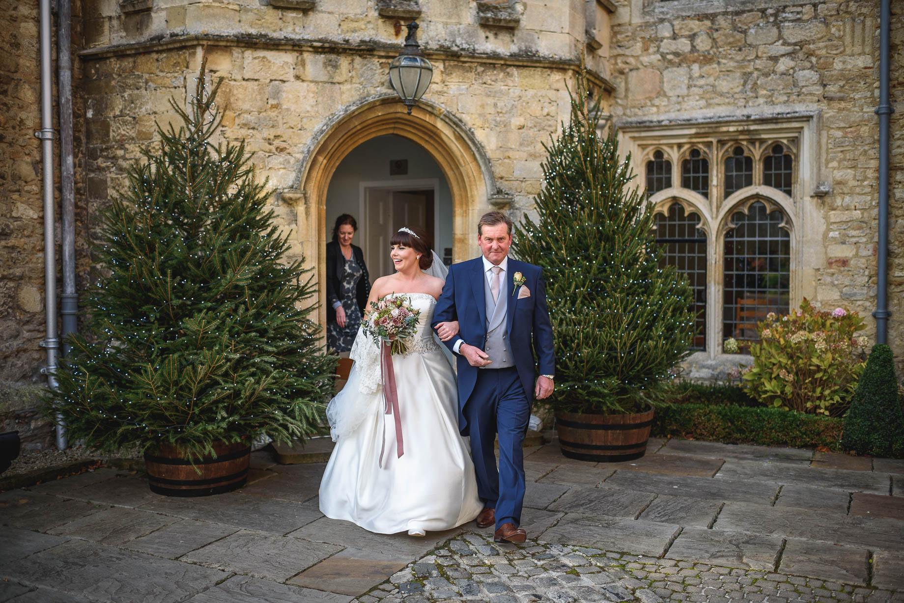 Notley Abbey wedding photography - Rachel + Seb