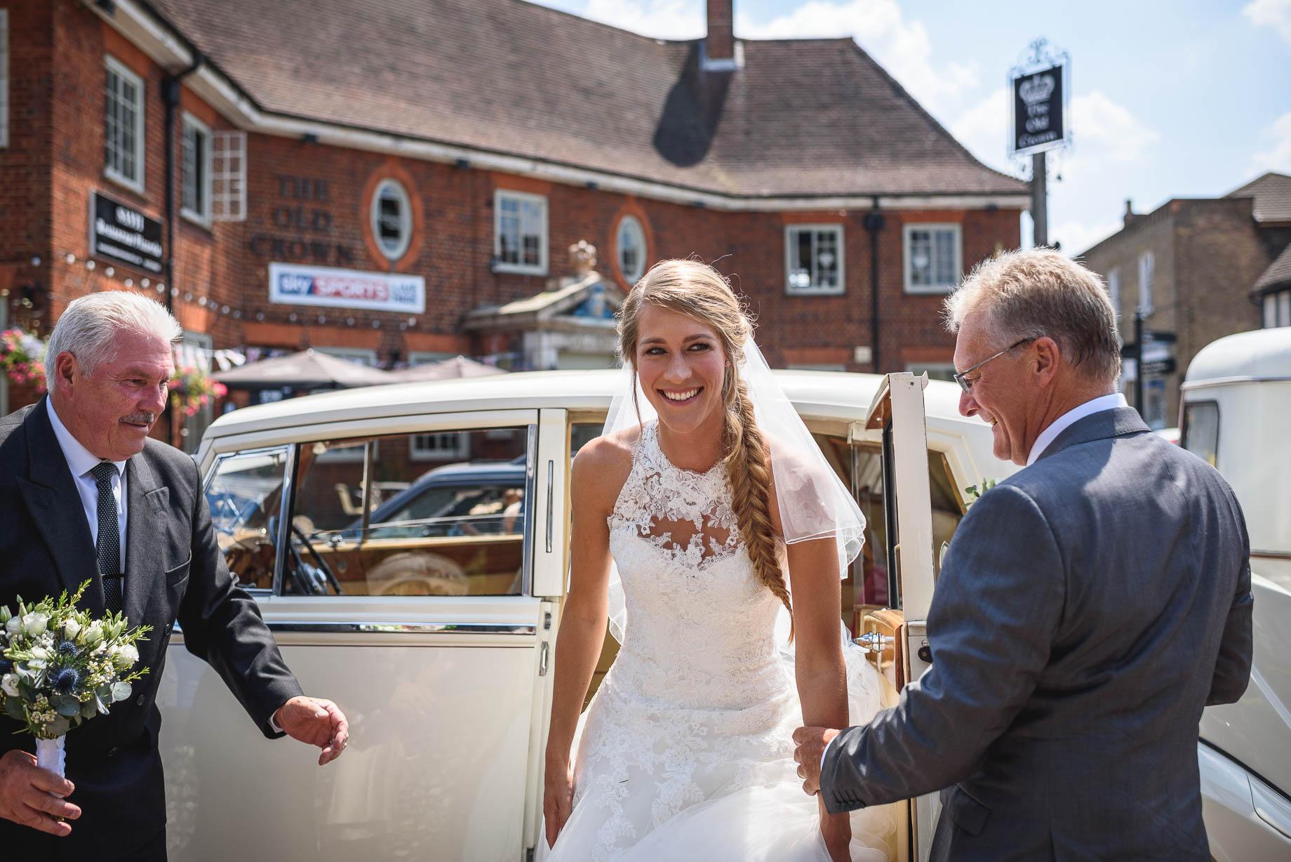 The Old Greens Barn wedding photography - Amy + Rob