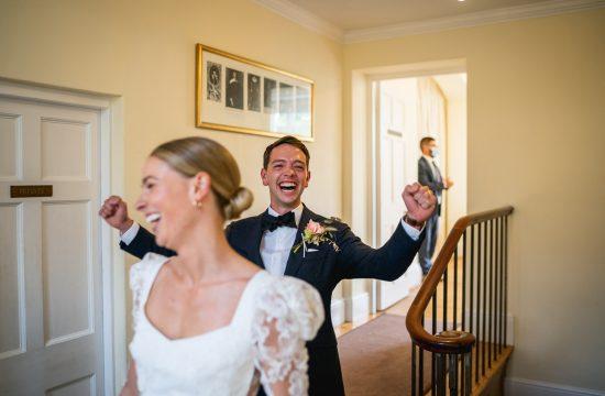 Micro wedding photography at Pembroke Lodge