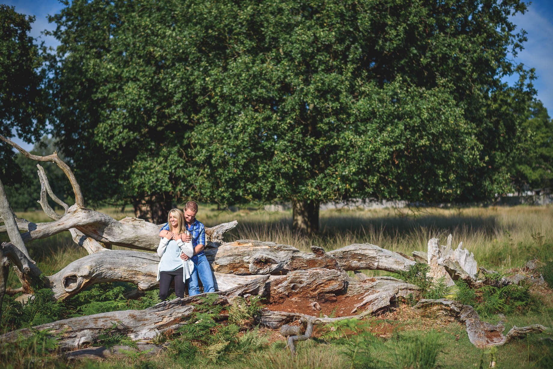 Richmond Park wedding photography - Lauren and Nick (13 of 29)
