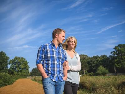 Richmond Park - Lauren and Nick