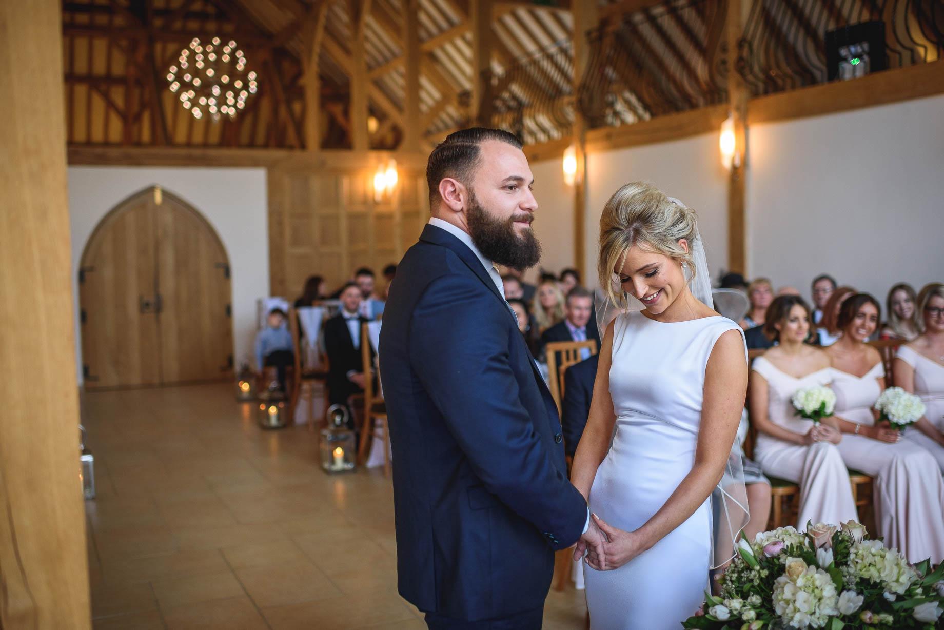 Rivervale Barn wedding photography - Becki + Thom