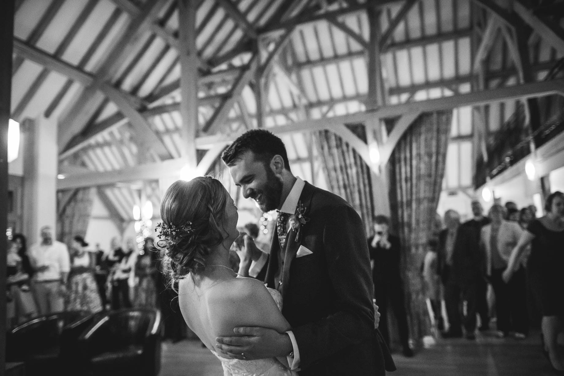 Rivervale Barn wedding photography by Guy Collier - Claire and Simon (129 of 133)