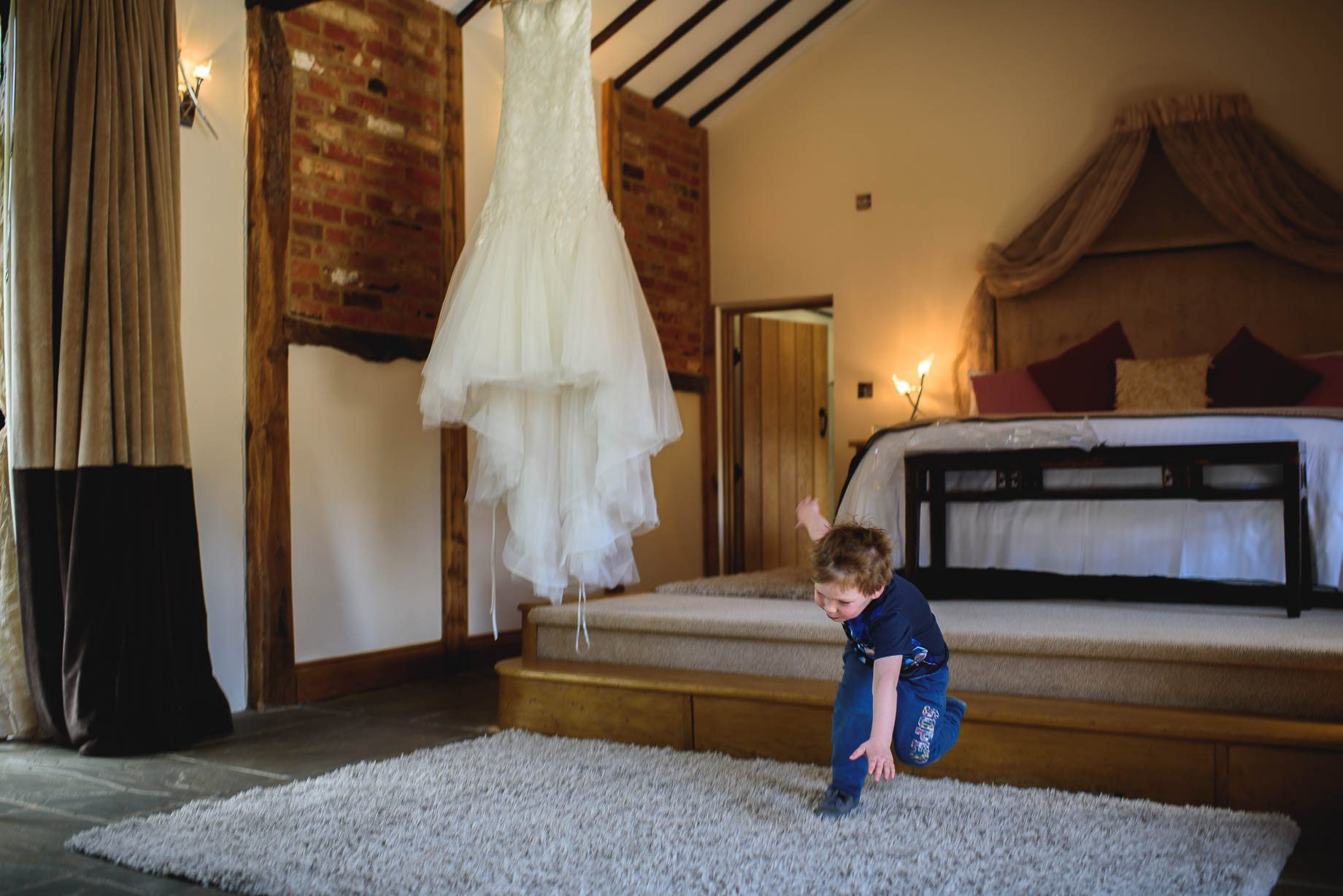 Rivervale Barn wedding photography by Guy Collier - Claire and Simon (13 of 133)
