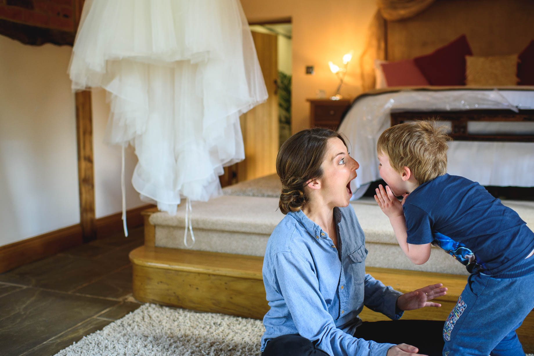 Rivervale Barn wedding photography by Guy Collier - Claire and Simon (17 of 133)