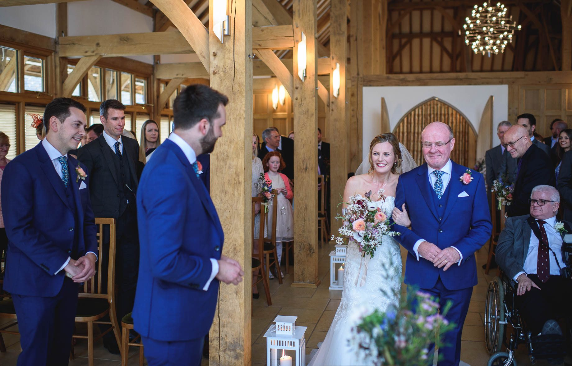 Rivervale Barn wedding photography by Guy Collier - Claire and Simon (54 of 133)