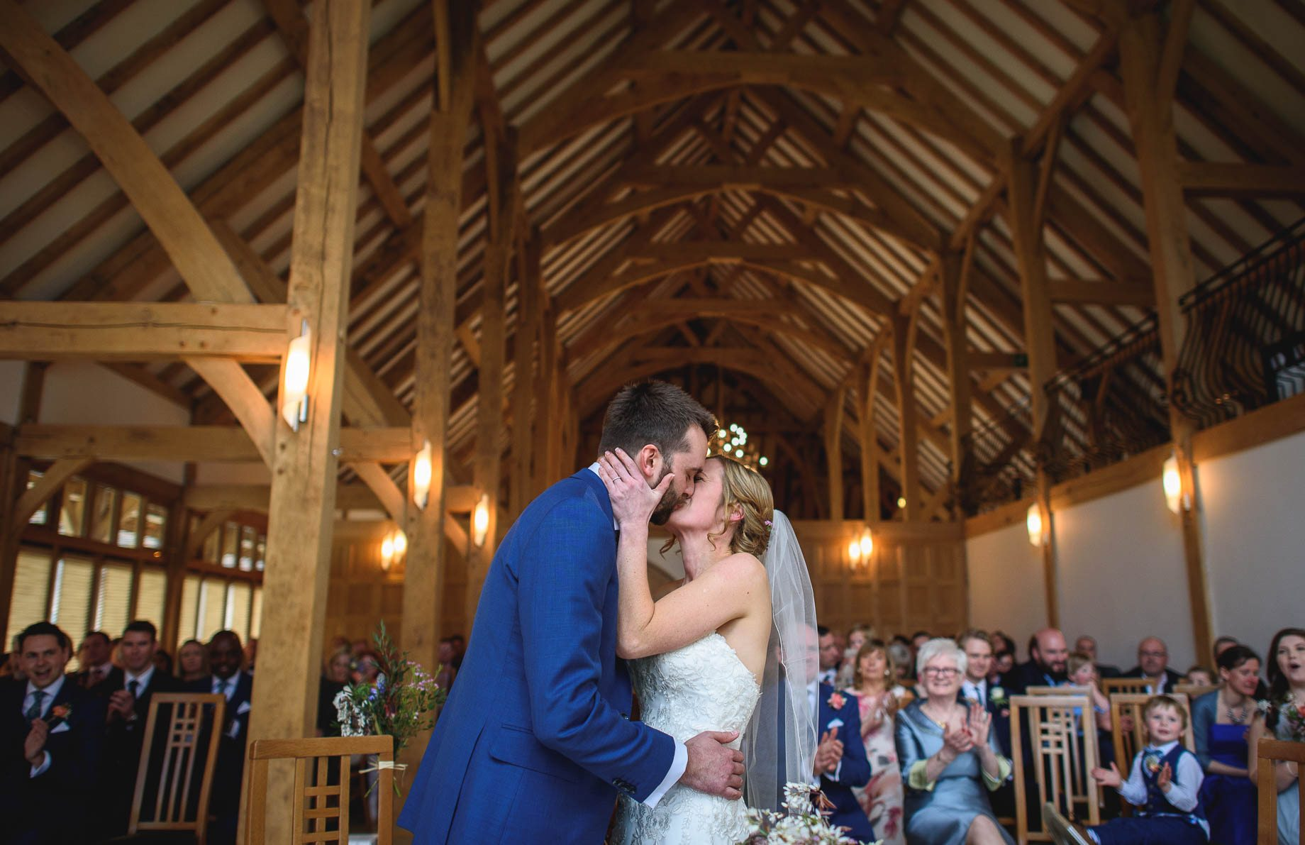 Rivervale Barn wedding photography by Guy Collier - Claire and Simon (59 of 133)