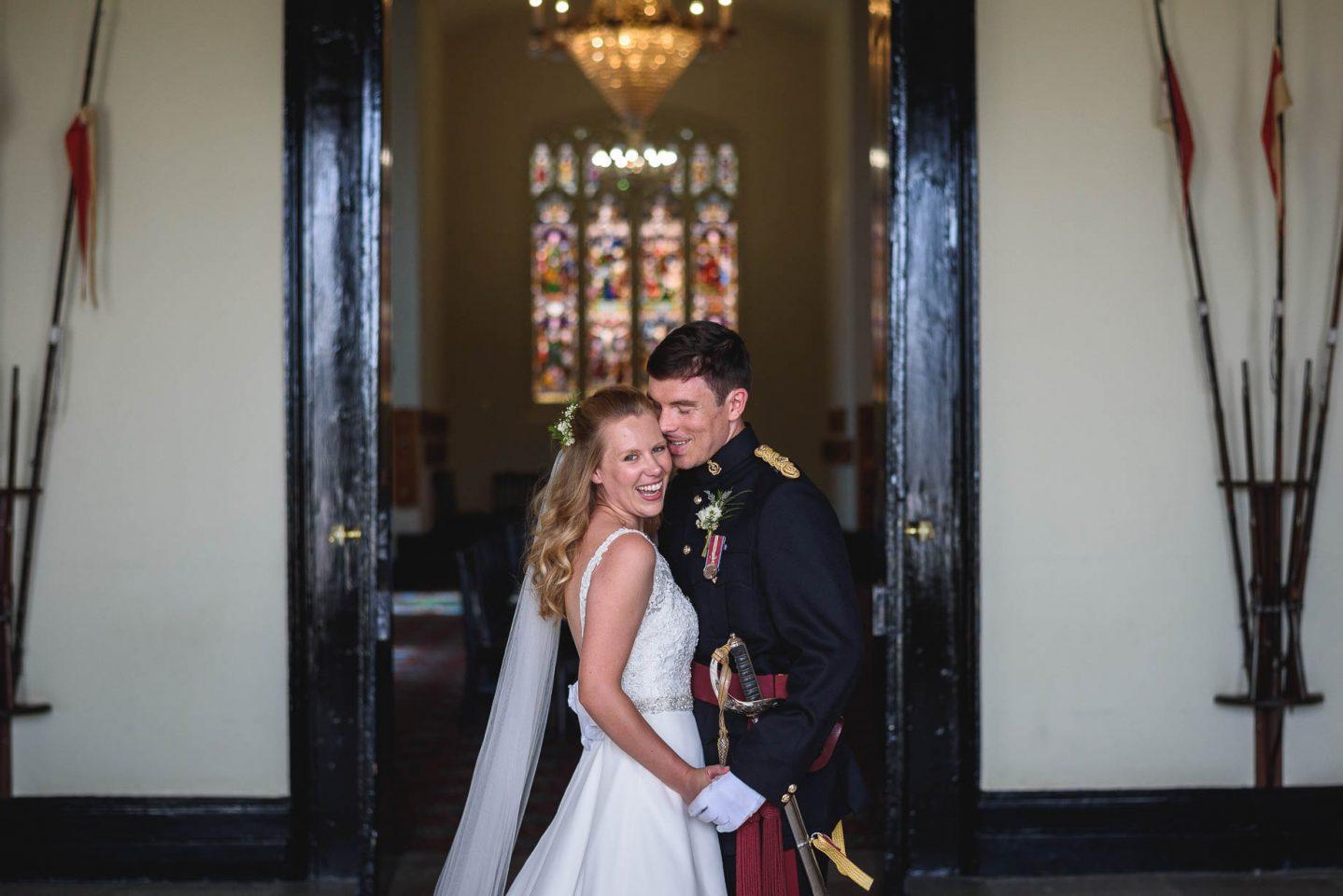 Sandhurst and Godalming wedding photography - Kate + Andrew