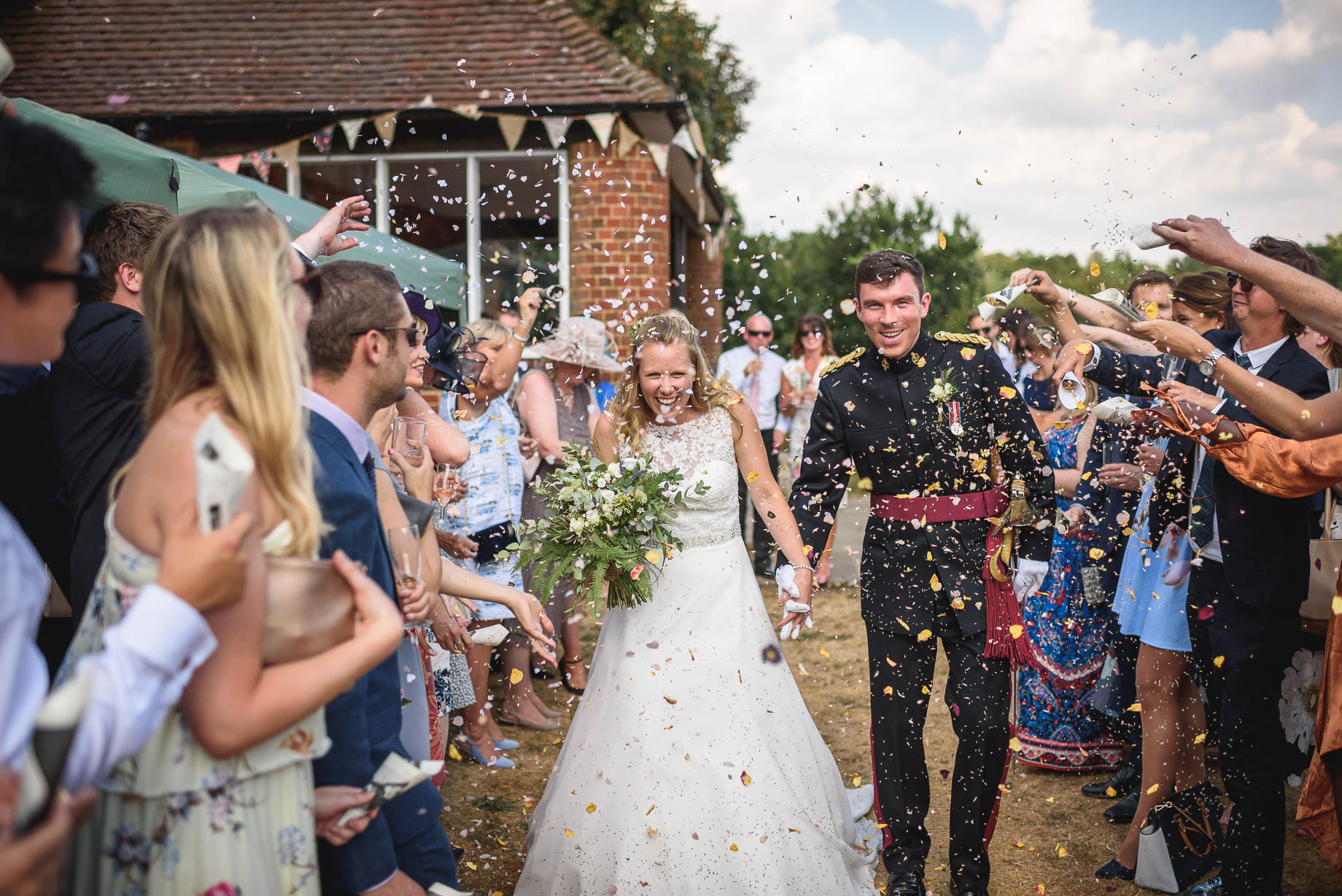 Sandhurst and Godalming wedding photography - Kate + Andrew