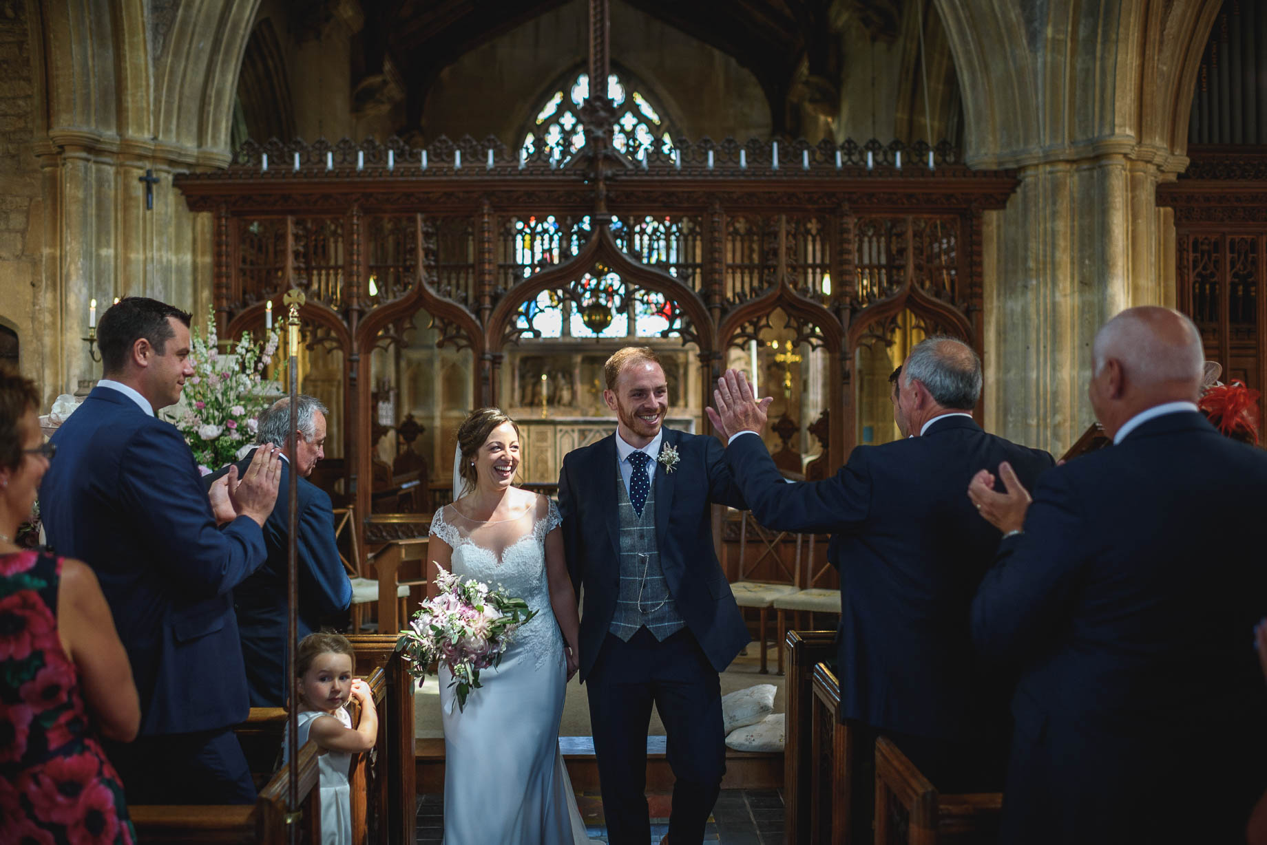 Somerset wedding photography - Abi + Rory