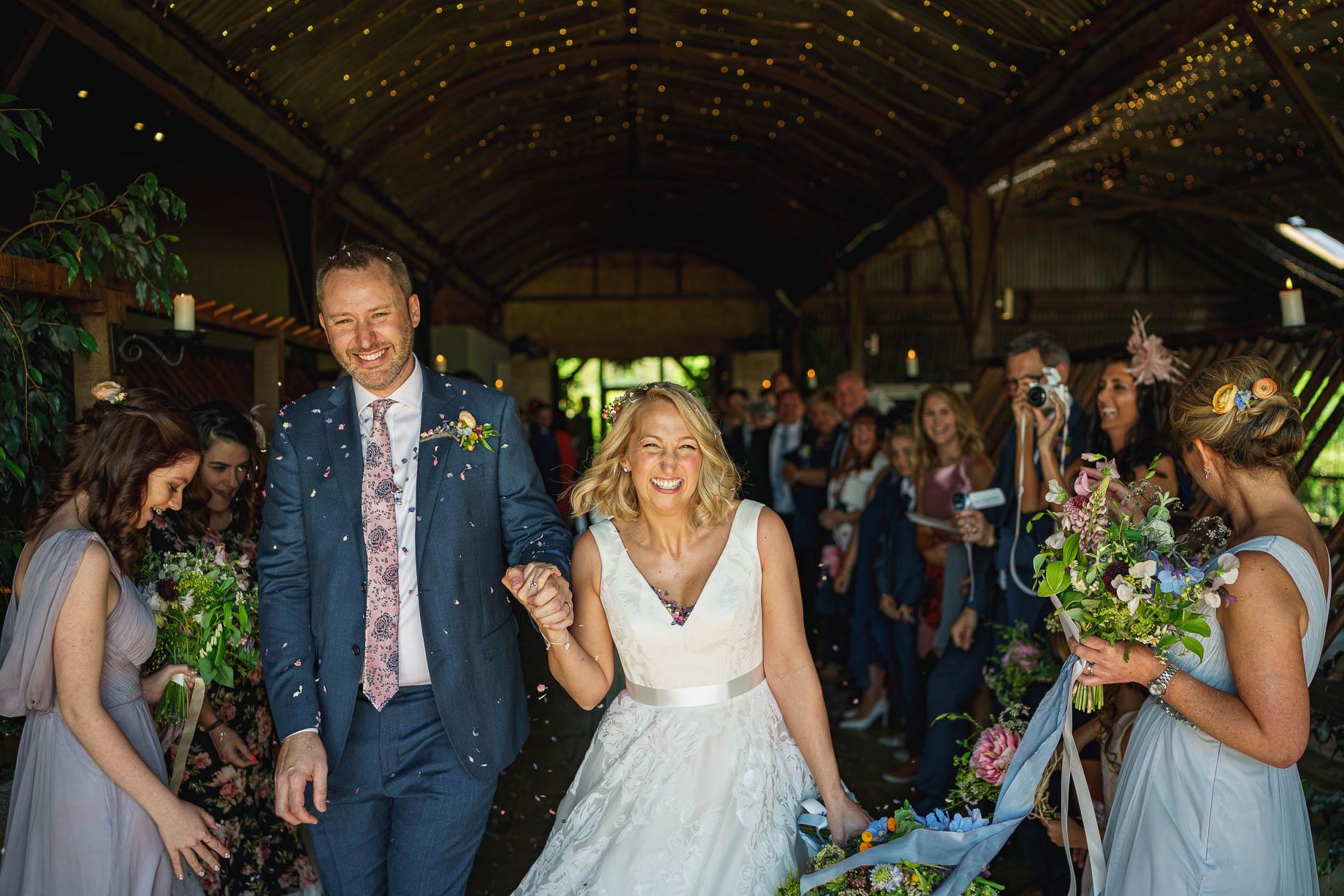 tone Barn wedding photography - Camilla + Adam