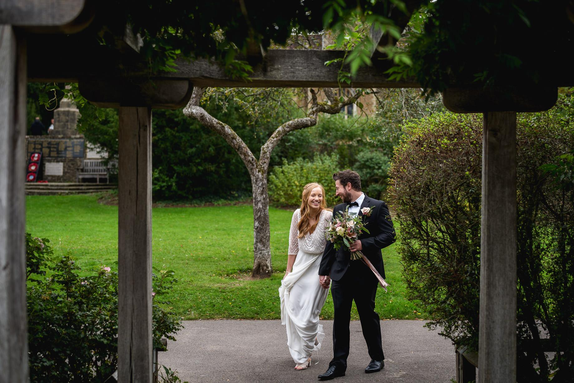 Micro wedding photography in Surrey - Rachel + Matt