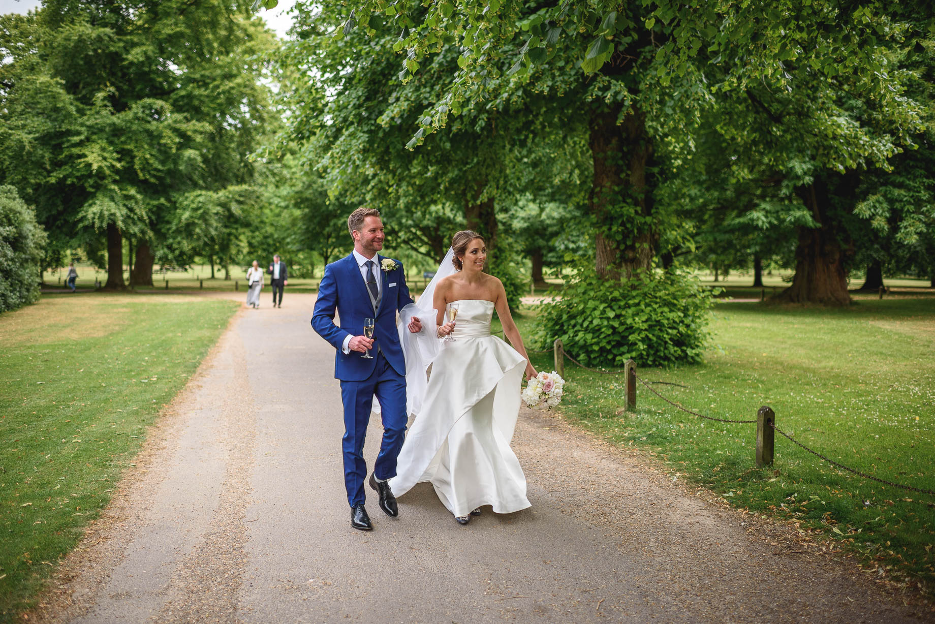 Surrey wedding photography - Laura and Alex