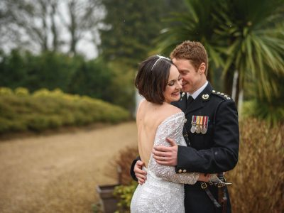 Surrey wedding photography at Russets - Katy + Russ